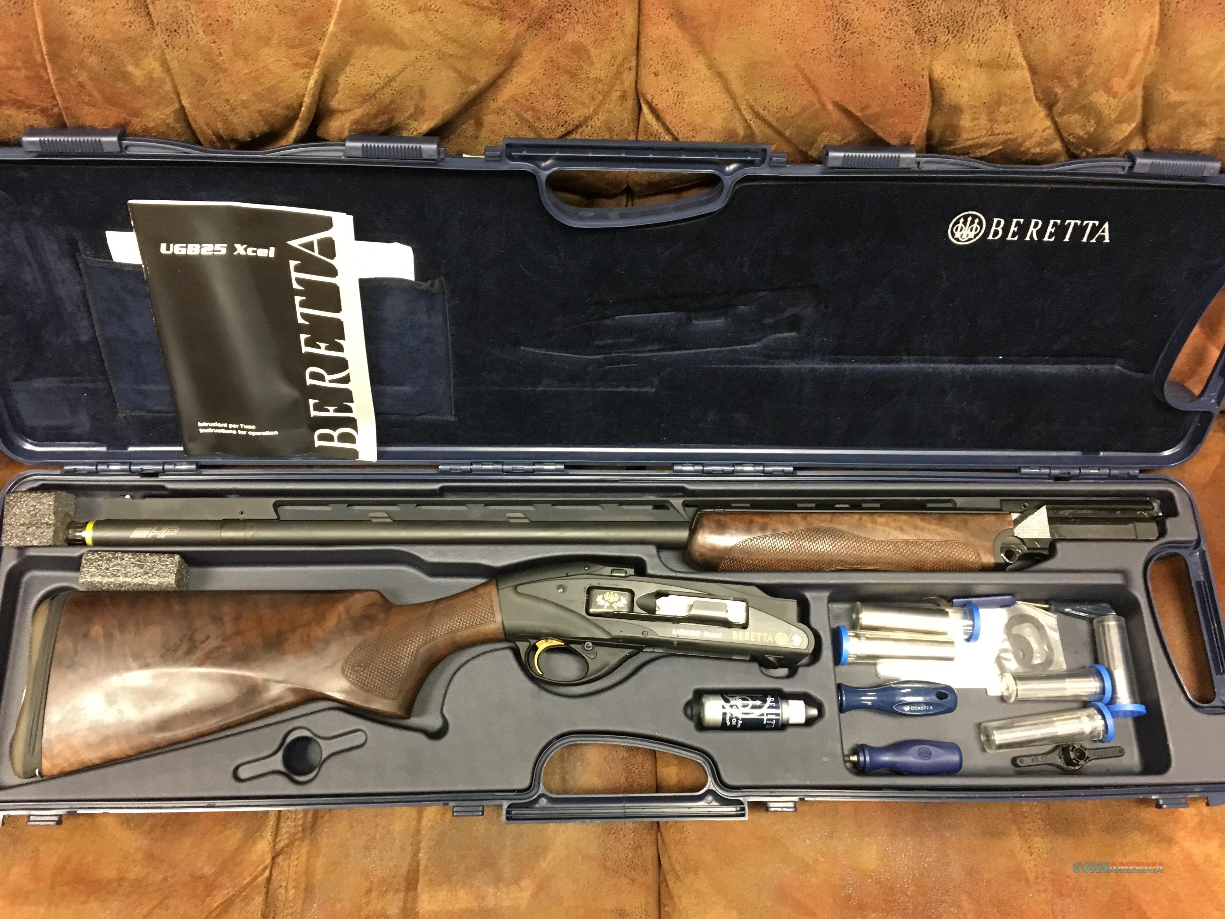 Beretta UGB25 Xcel Sporting  Guns > Shotguns > Beretta Shotguns > Single Barrel