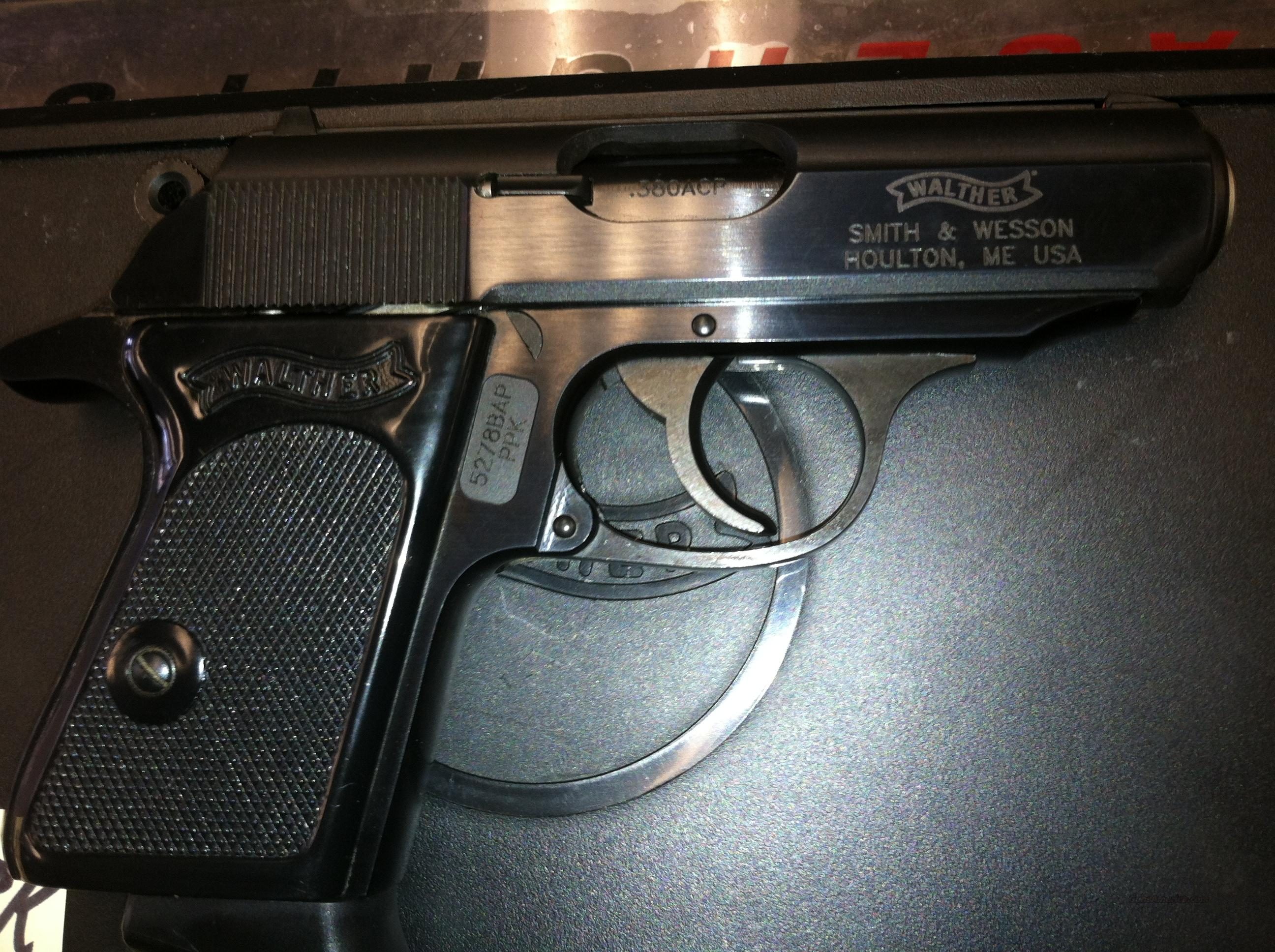 Walther PPK .380  Guns > Pistols > Walther Pistols > Post WWII > PPK Series