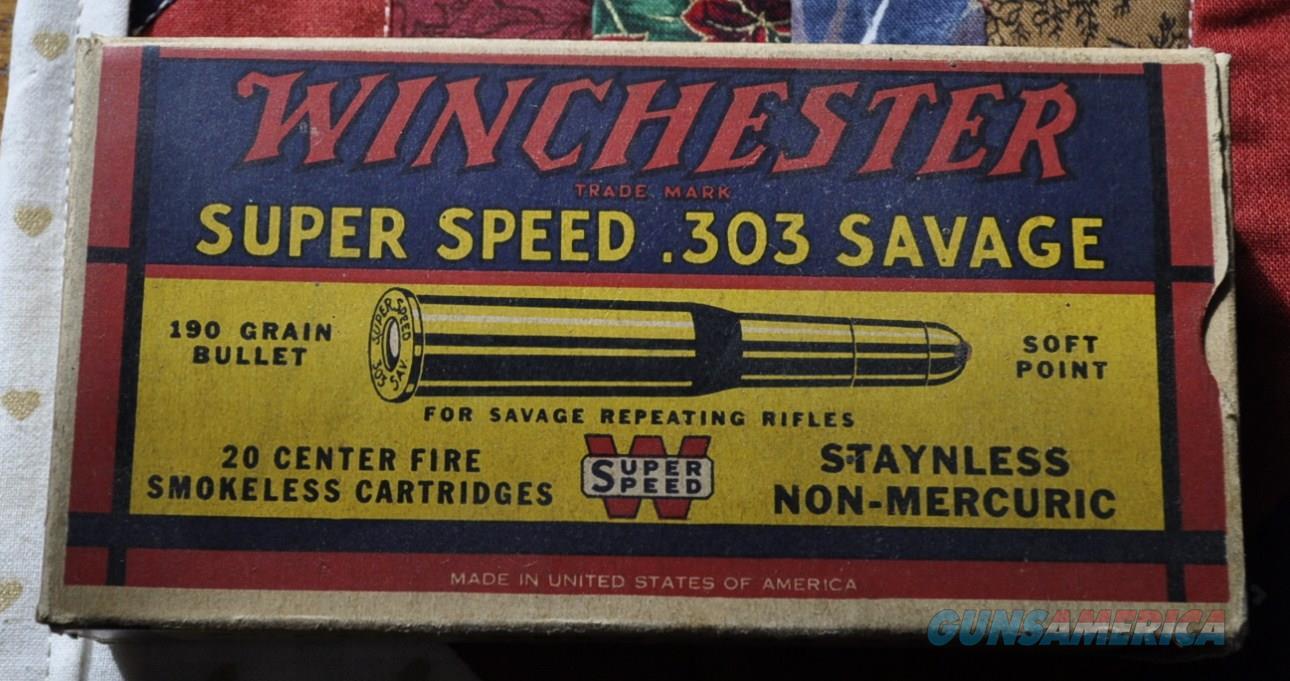 Winchester 303 Savage  Non-Guns > Ammunition