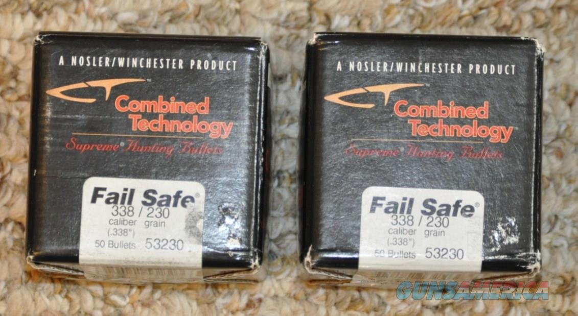 Combined Technology Fail Safe .338 caliber 230 gr.  Non-Guns > Reloading > Components > Bullets