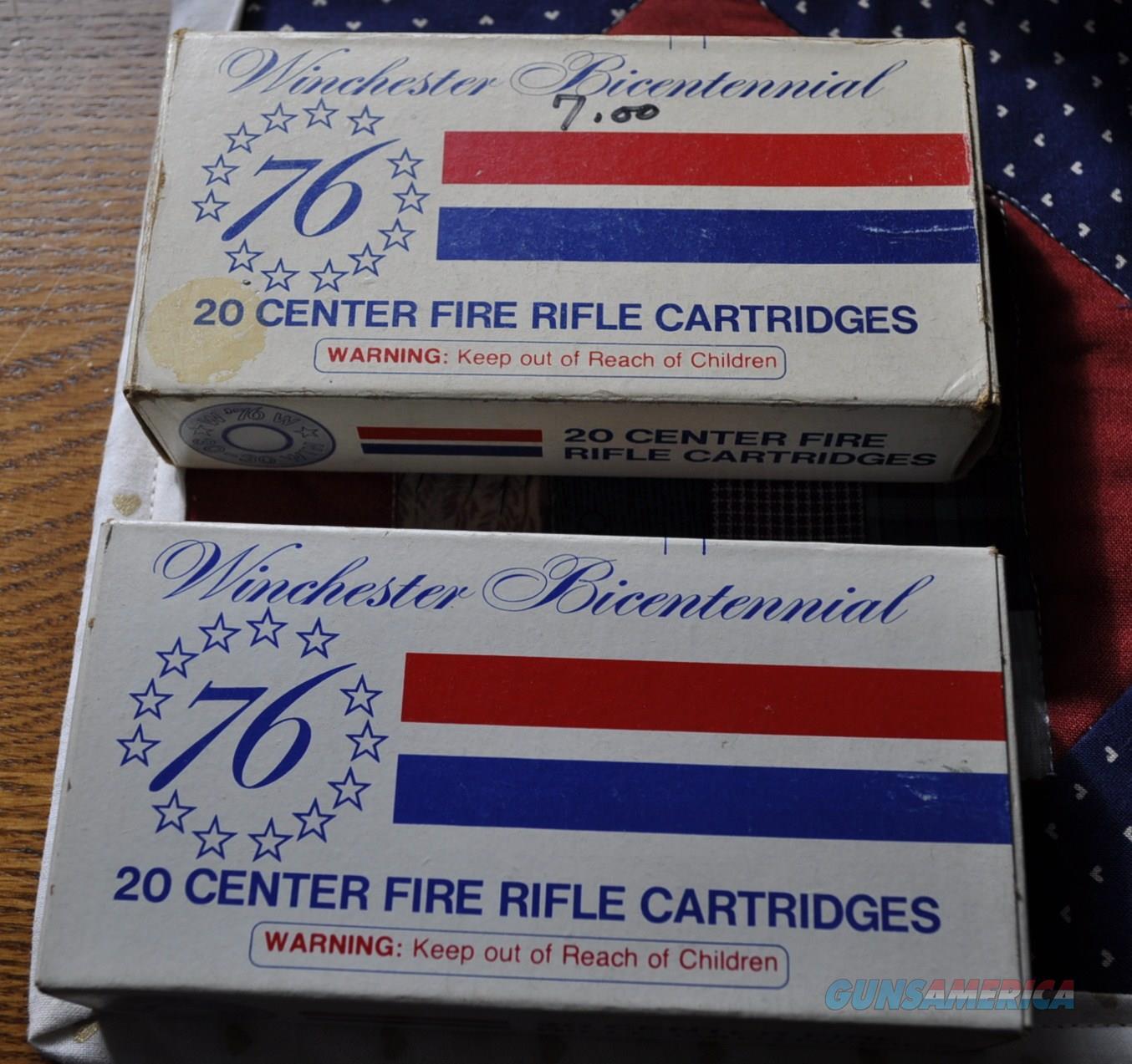 1976 Bi-Centennial 30-30 ammo  Non-Guns > Ammunition