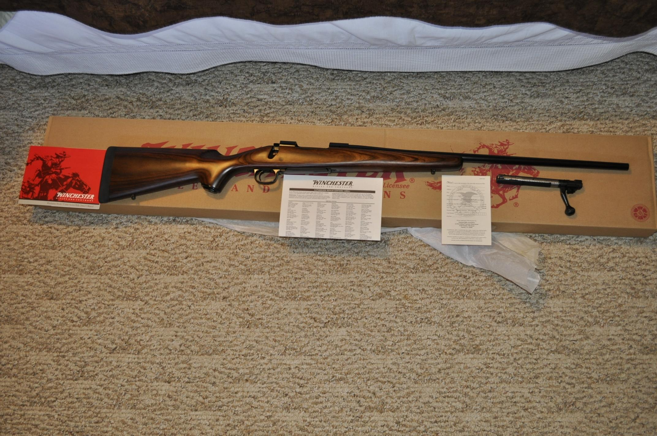 Winchester 300 short mag Model 70  Guns > Rifles > Winchester Rifles - Modern Bolt/Auto/Single > Model 70 > Post-64