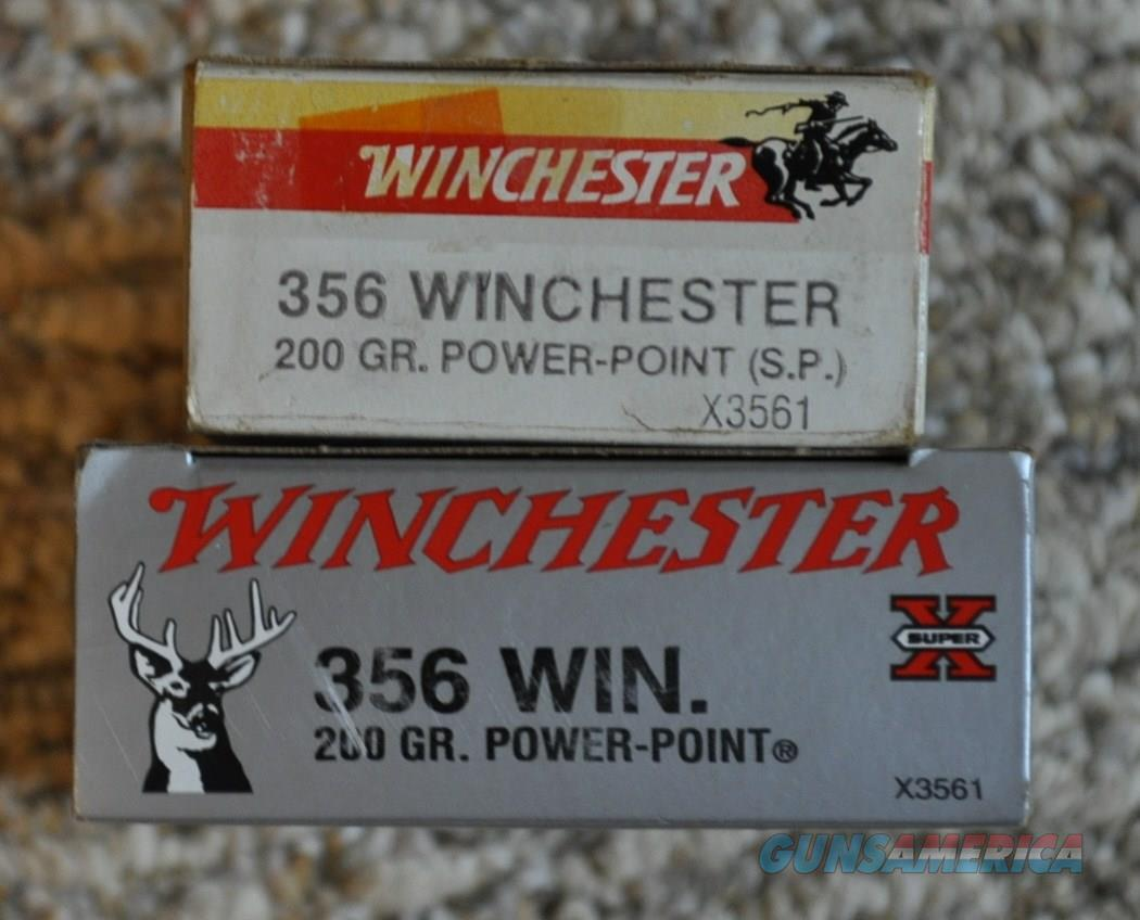 .356 Winchester 200 grain power point ammo  Non-Guns > Ammunition