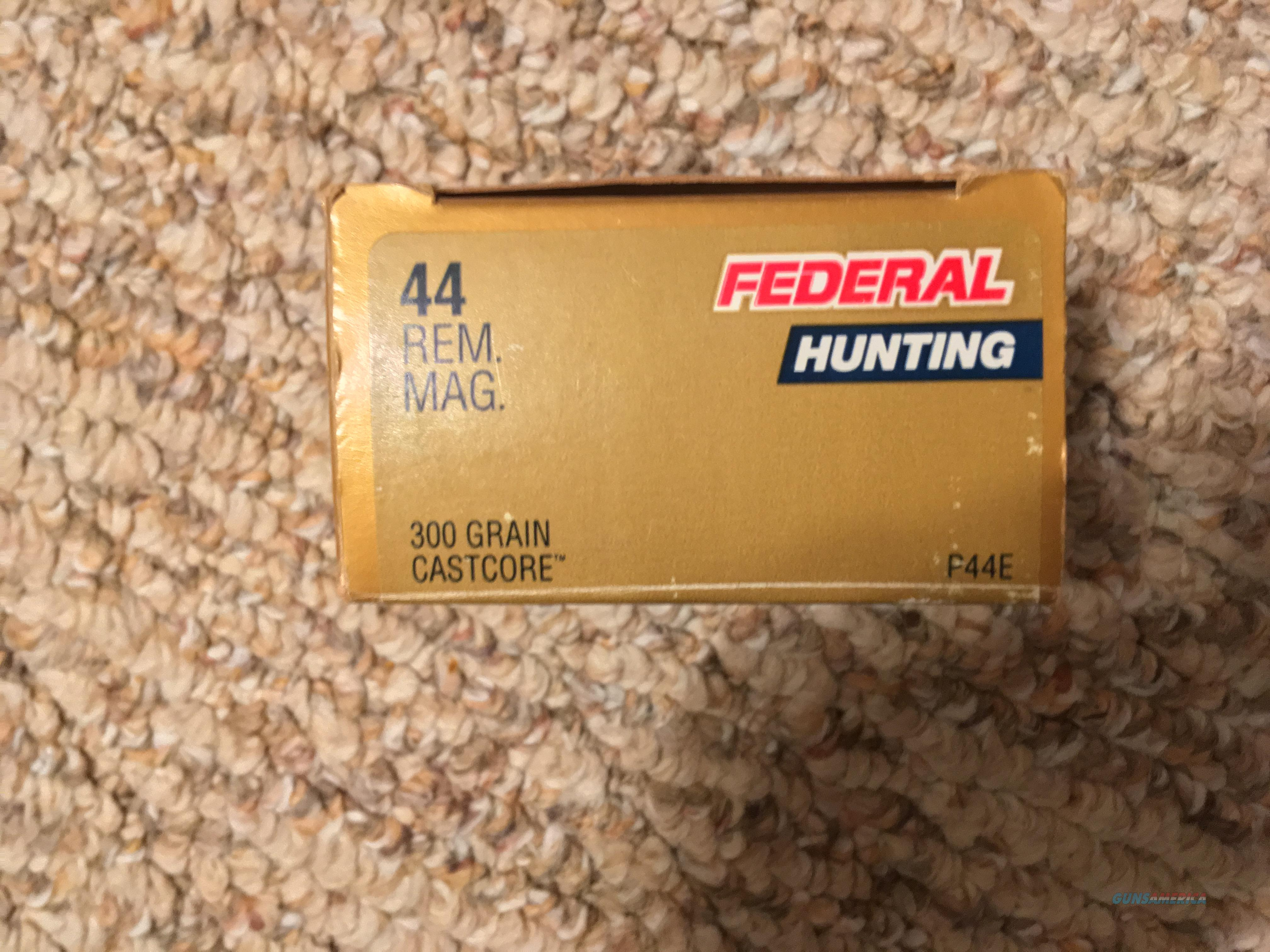 .44 mag ammo  Non-Guns > Ammunition