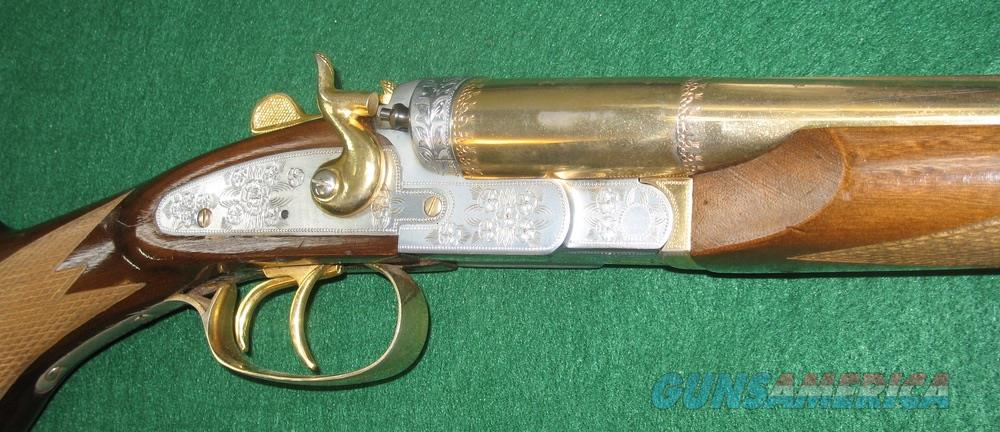 Rossi Overland, 12ga, Factory Engraved and Gold Plated, Very nice condition  Guns > Shotguns > Rossi Shotguns