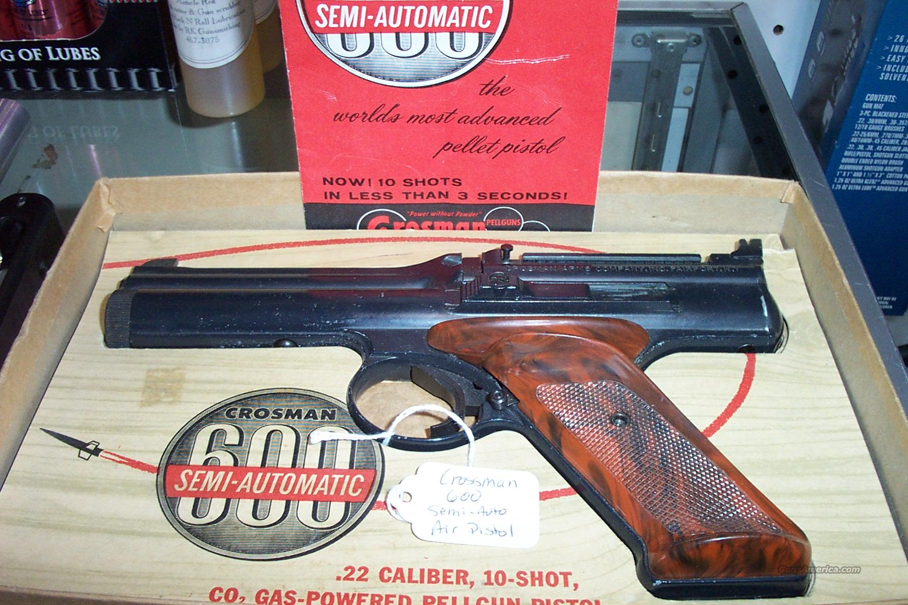 Crosman 600  Non-Guns > Air Rifles - Pistols > Vintage