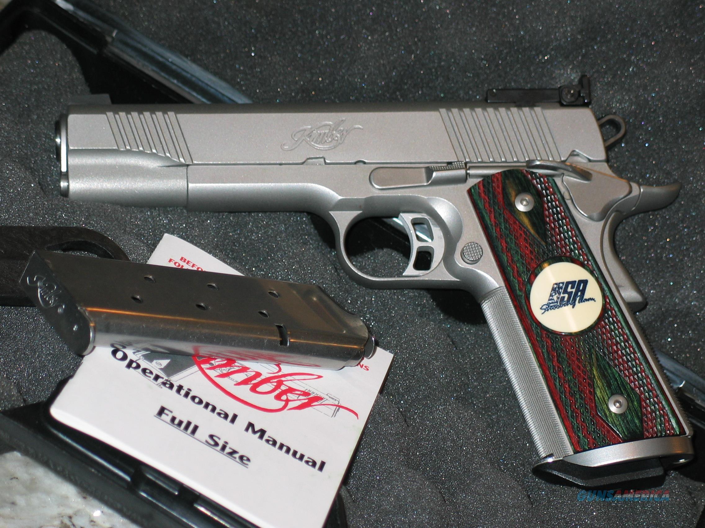 Kimber USA Shooting Team Match II 2003 mfg  Guns > Pistols > Kimber of America Pistols > 1911