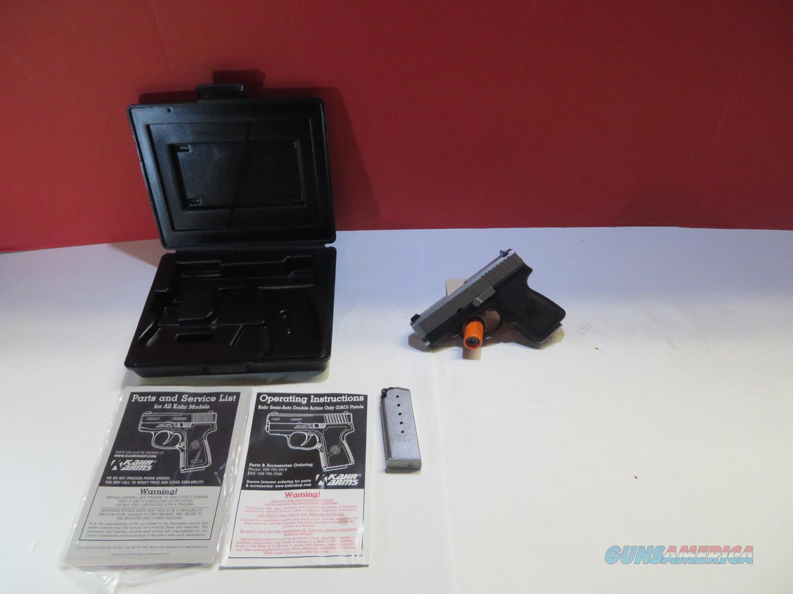 KHAR ARMS CM9 *LIKE NEW/ORIGINAL BOX/EXTRA MAGAZINE*  Guns > Pistols > Kahr Pistols