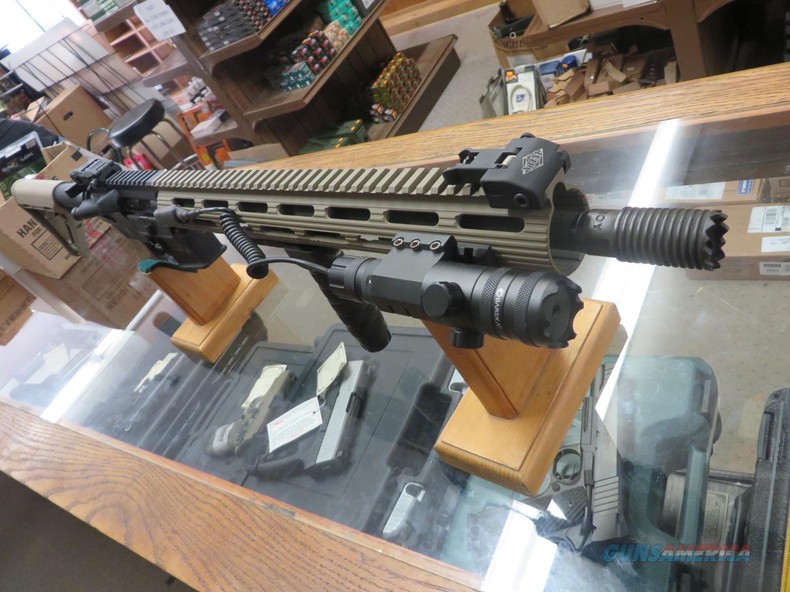 Smith & Wesson M&P-15 w/ many upgrades!!  Guns > Rifles > Smith & Wesson Rifles > M&P