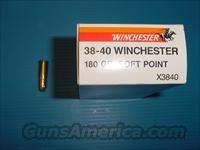 WINCHESTER 38-40  Non-Guns > Ammunition