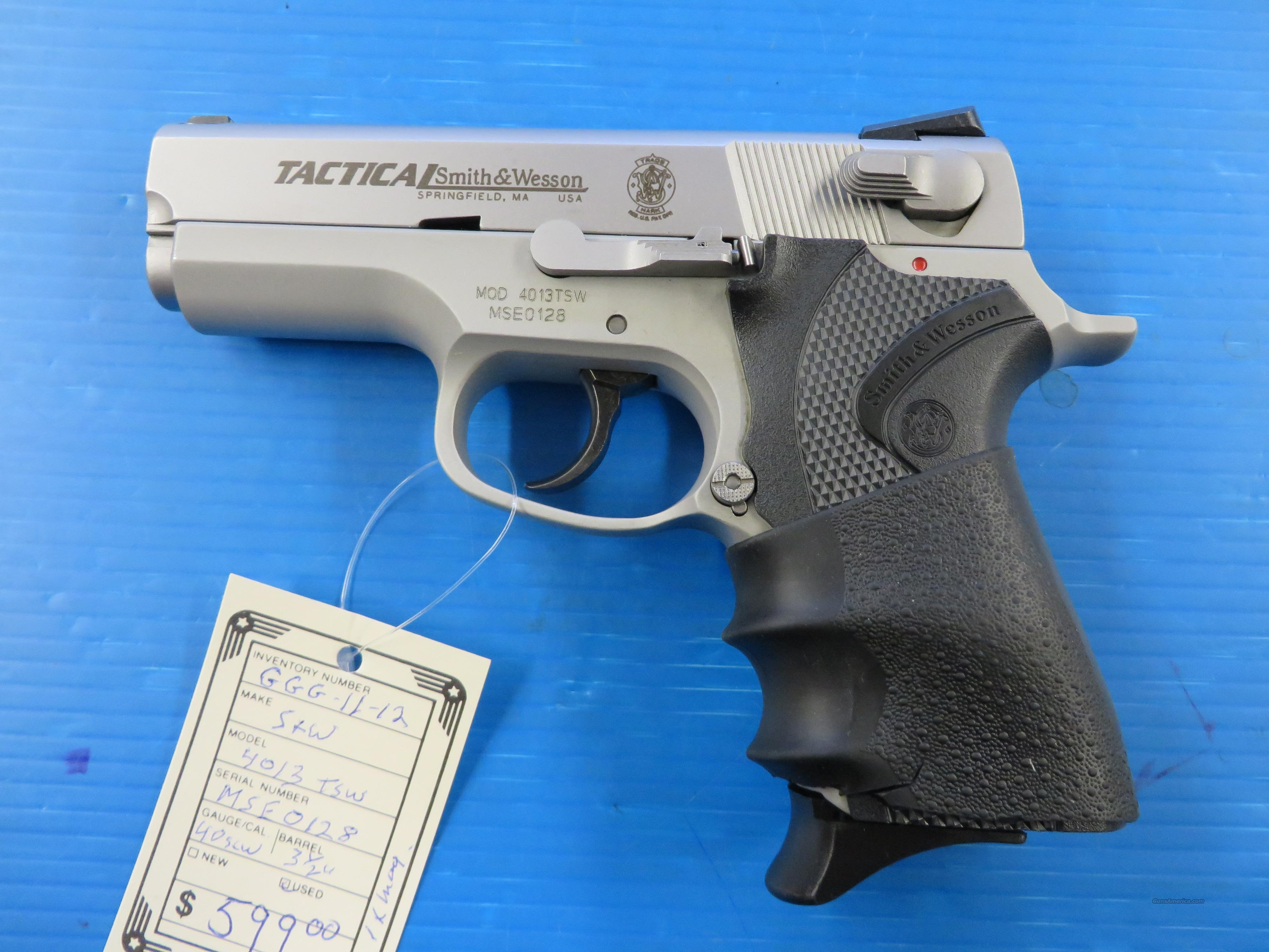 SMITH AND WESSON 4013TSW  Guns > Pistols > Smith & Wesson Pistols - Autos > Alloy Frame