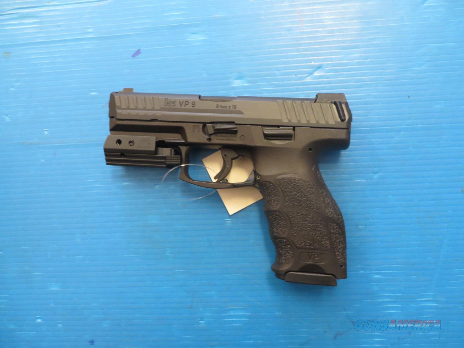 Heckler & Koch VP9 with laser (CT Compliant) Guns > Pistols > Heckl...