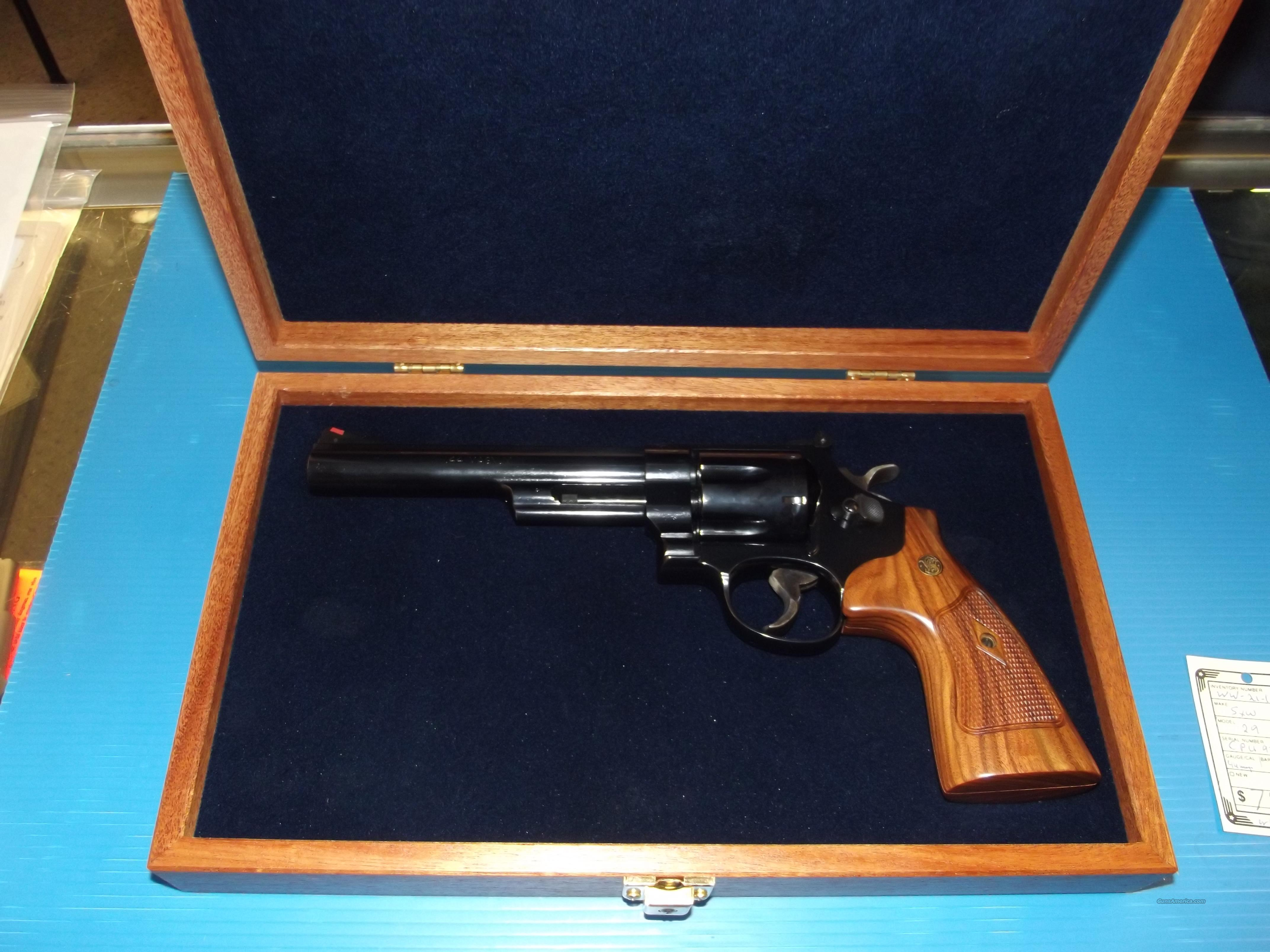 SMITH AND WESSON 29-10  Guns > Pistols > Smith & Wesson Revolvers > Model 629