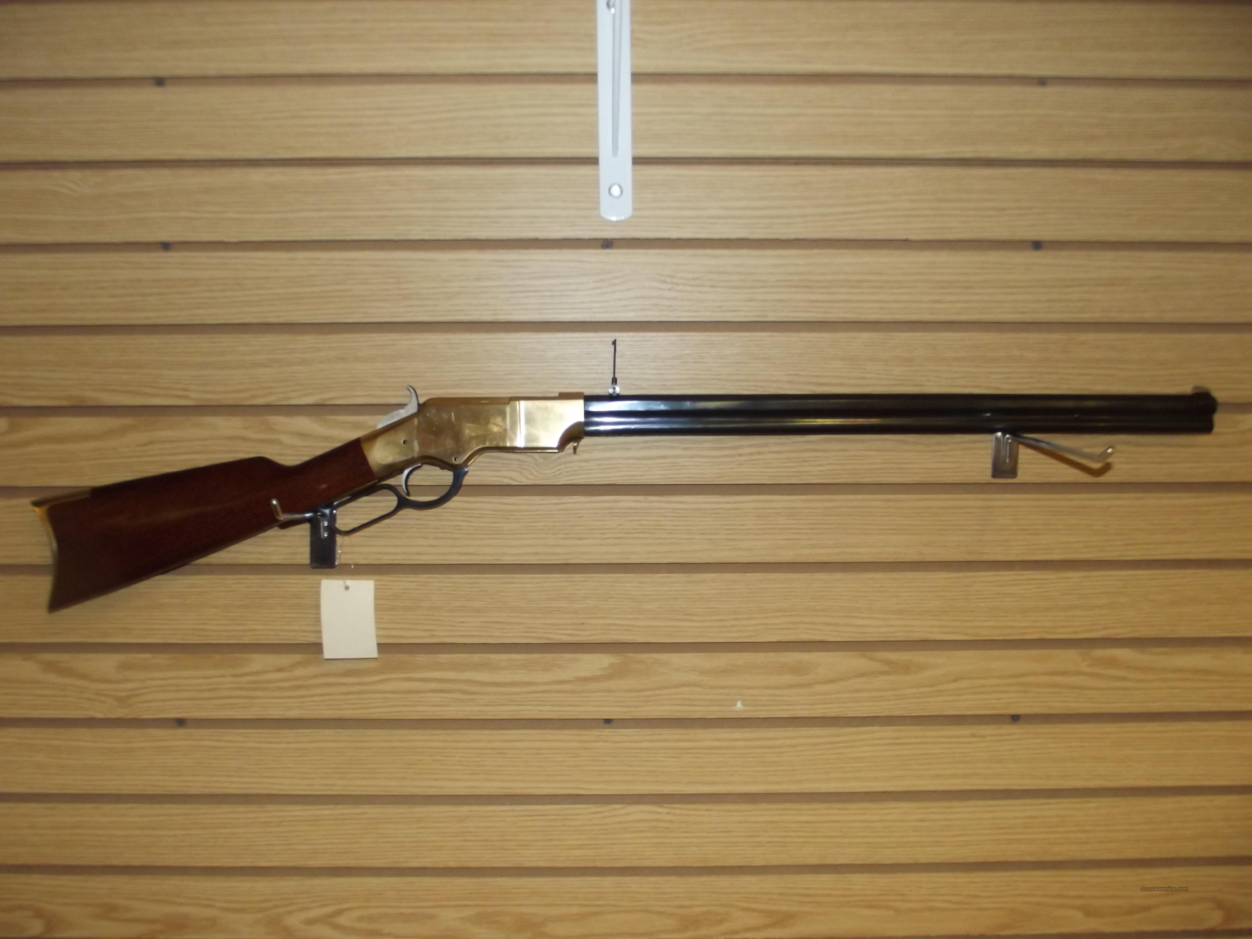 UBERTI 1860 HENRY RIFLE  UU-20-1  Guns > Rifles > Uberti Rifles > Lever Action