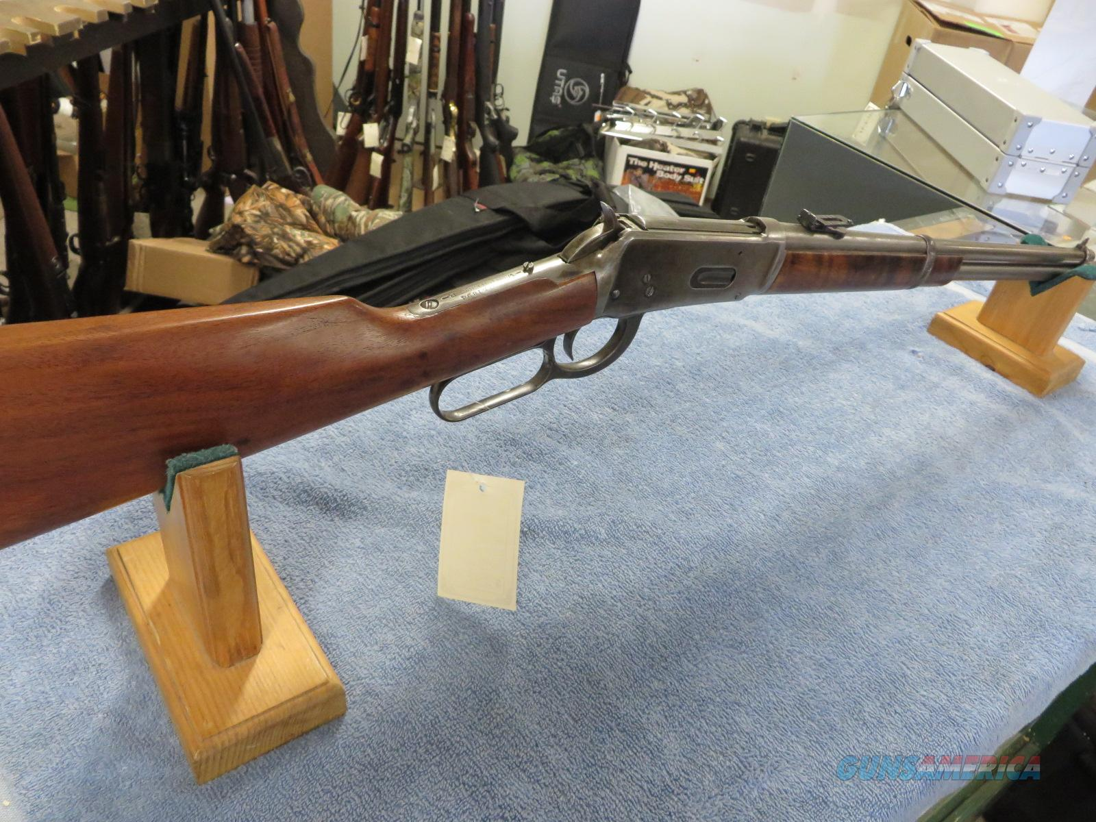 Winchester model 1894 lever action 30-30  Guns > Rifles > Winchester Rifles - Pre-1899 Lever
