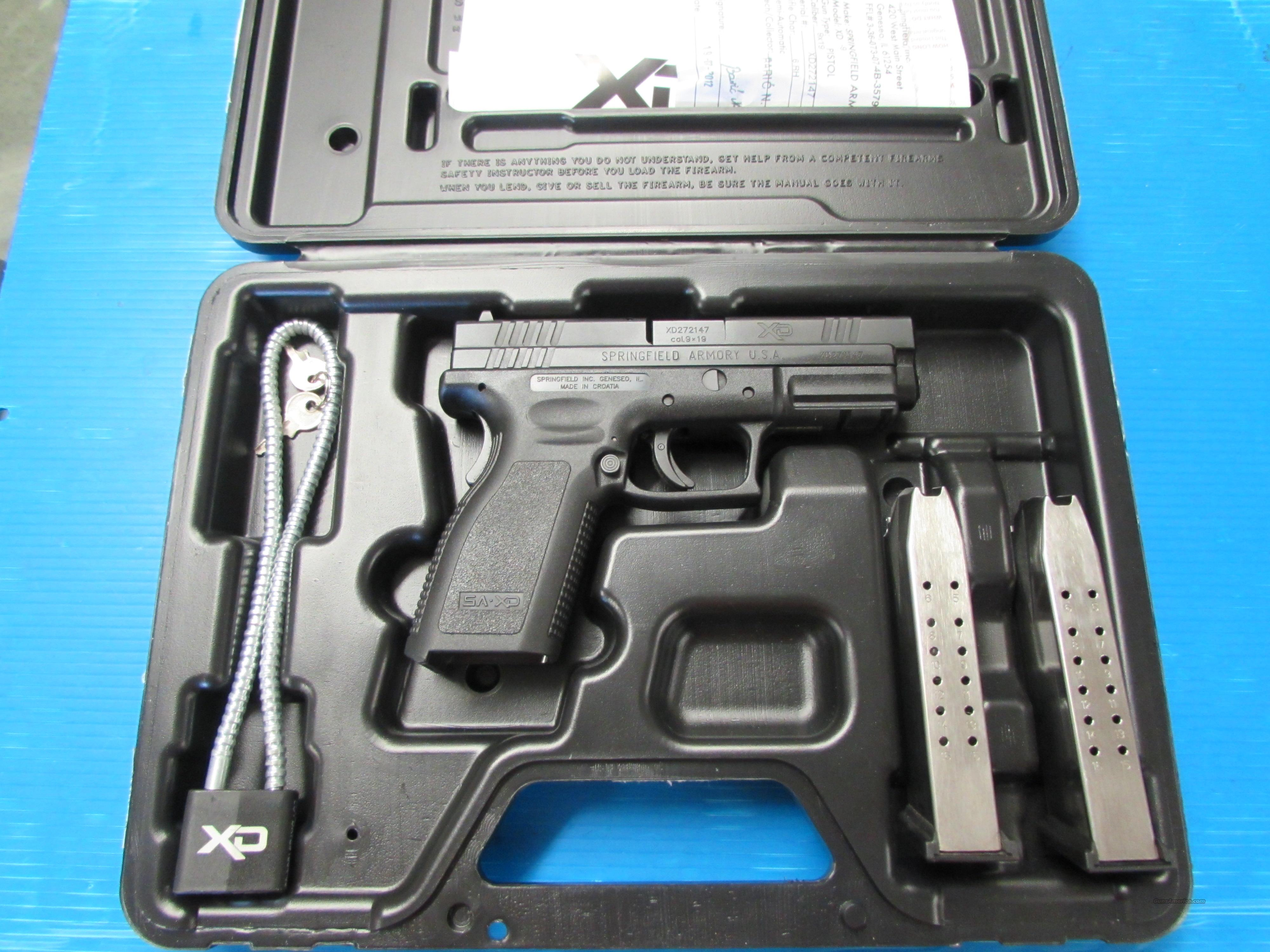 SPRINGFIELD ARMORY XD-9 DDD-11-16  Guns > Pistols > Springfield Armory Pistols > XD (eXtreme Duty)