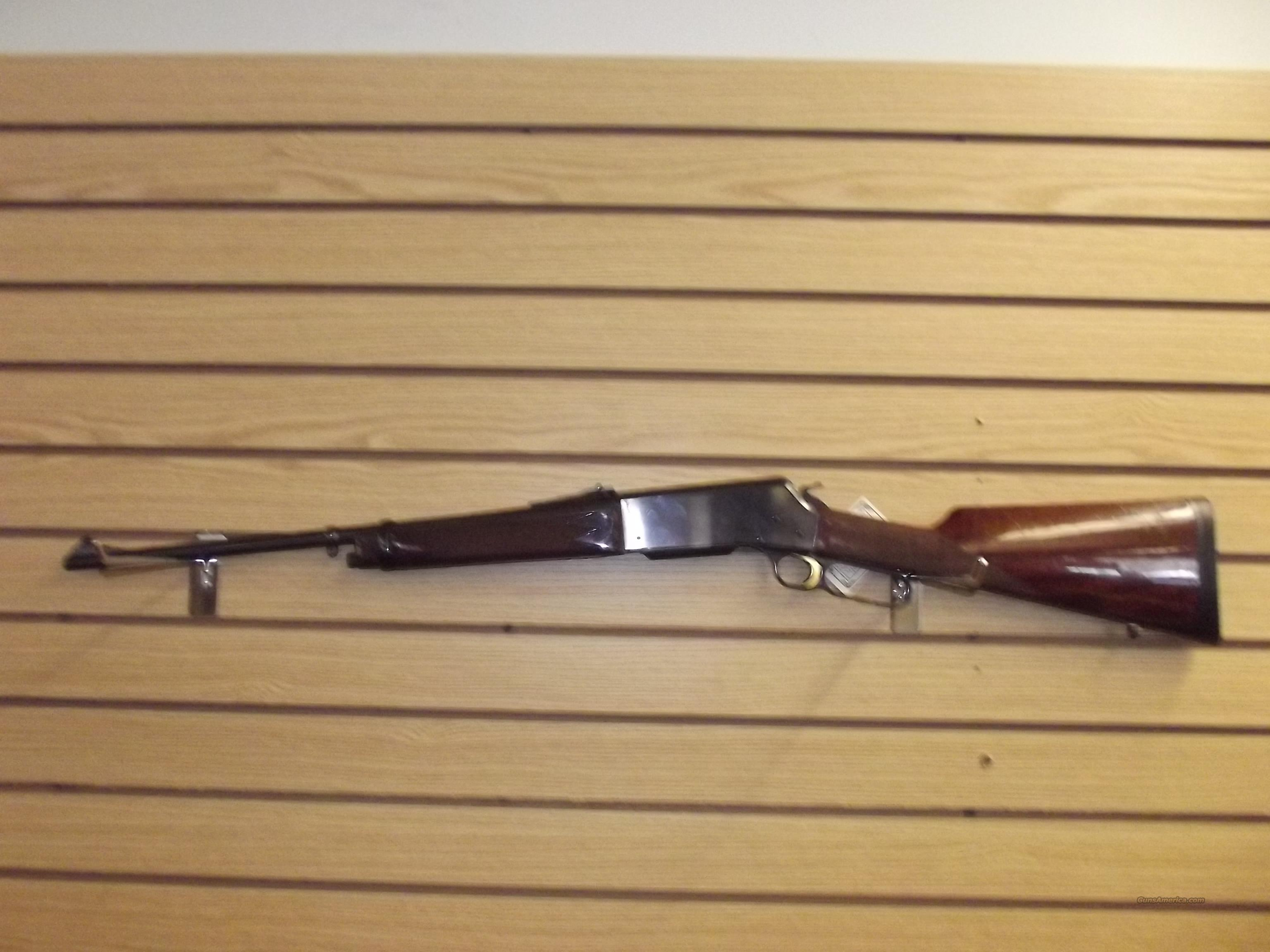 BROWNING 81BLR  Guns > Rifles > Browning Rifles > Lever Action