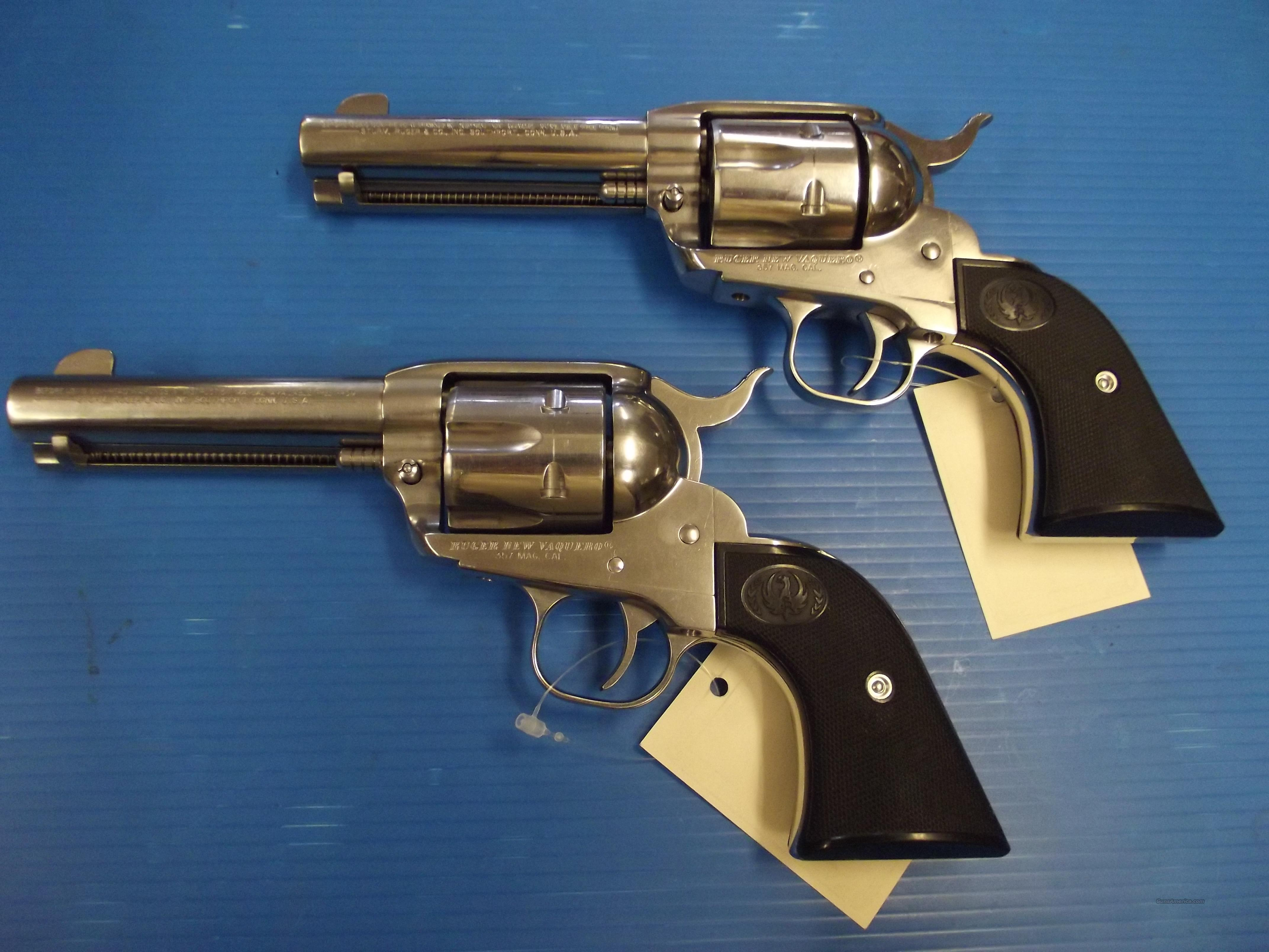 RUGER NEW VAQUEROS WW-10-17&WW-10-18  Guns > Pistols > Ruger Single Action Revolvers > Cowboy Action