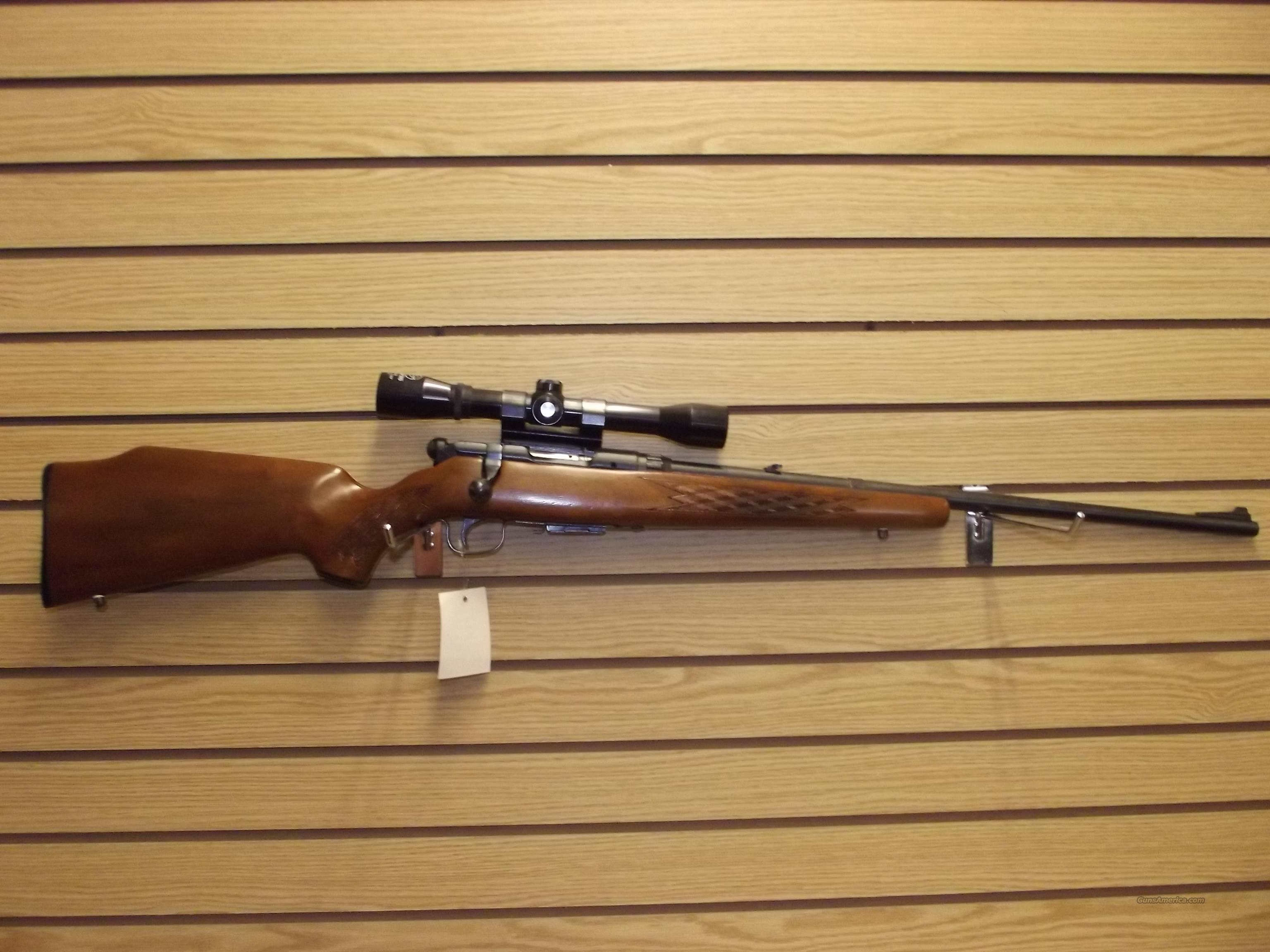 SAVAGE MODEL 340E  Guns > Rifles > Savage Rifles > Standard Bolt Action > Sporting