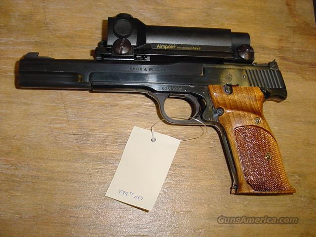 S&W MODEL 41 QQ-10-22  Guns > Pistols > Smith & Wesson Pistols - Autos > Steel Frame