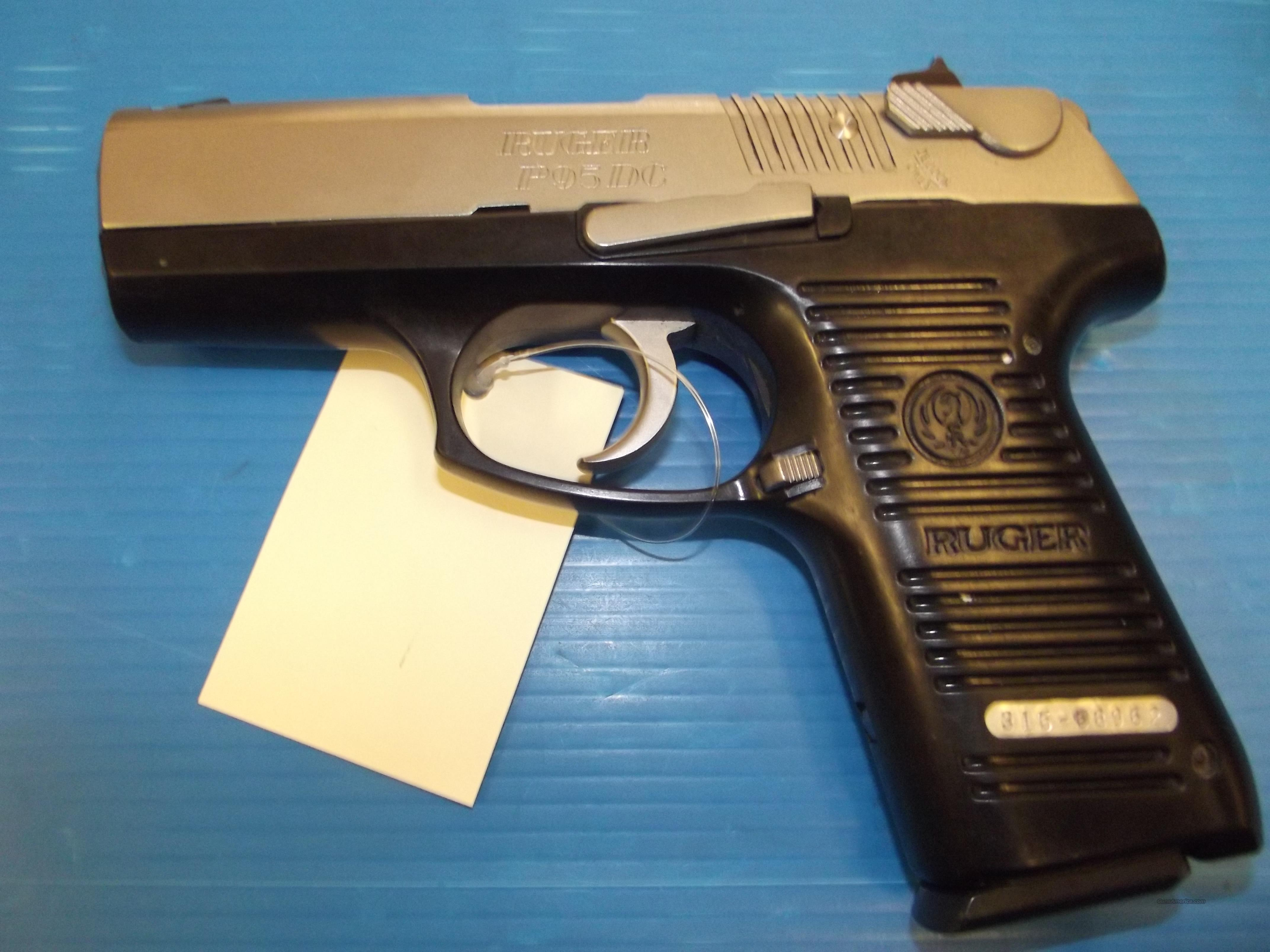 RUGER P95DC WW-21-9  Guns > Pistols > Ruger Semi-Auto Pistols > P-Series