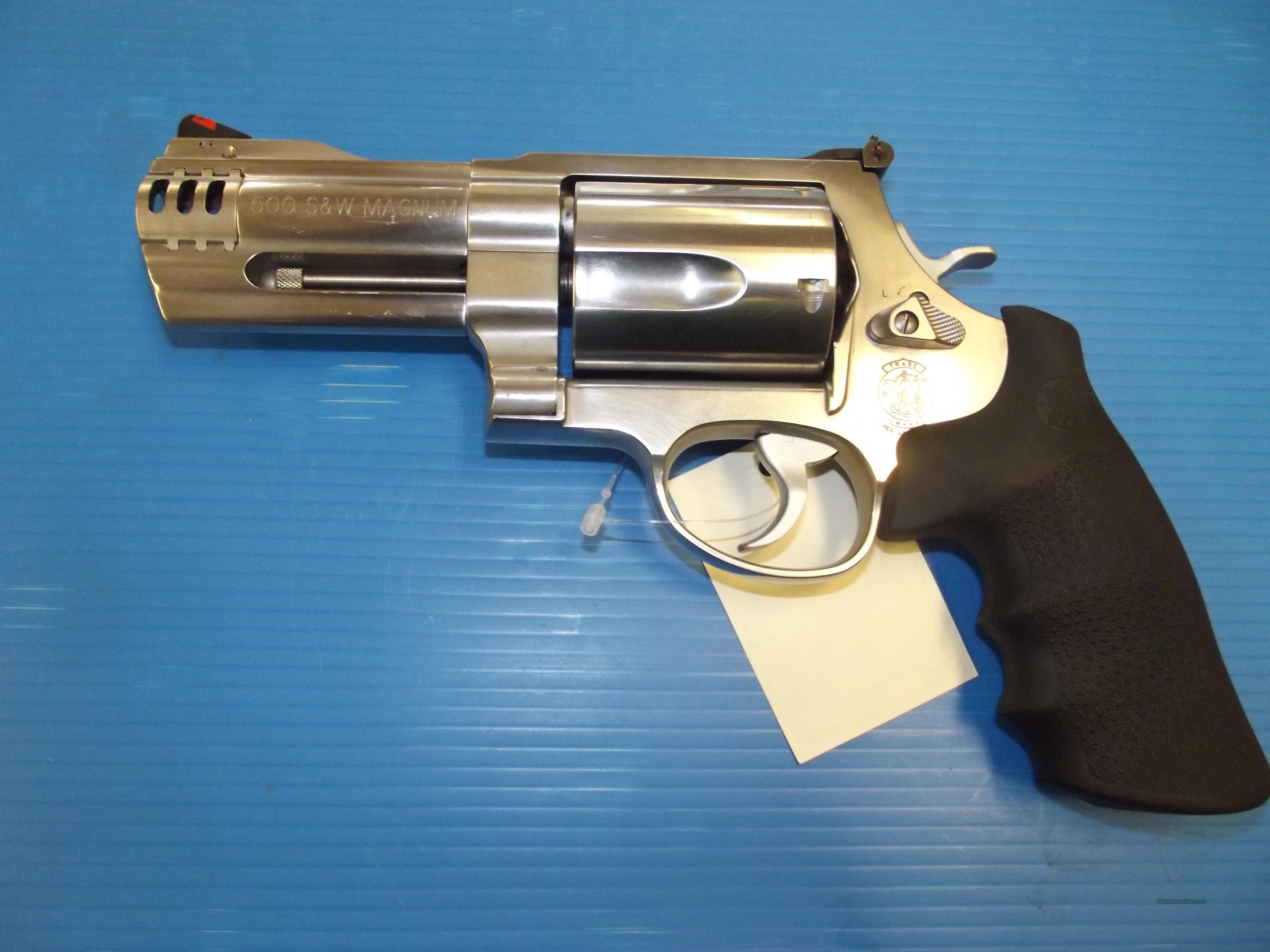 S&W 500 VV-18-1  Guns > Pistols > Smith & Wesson Revolvers > Full Frame Revolver