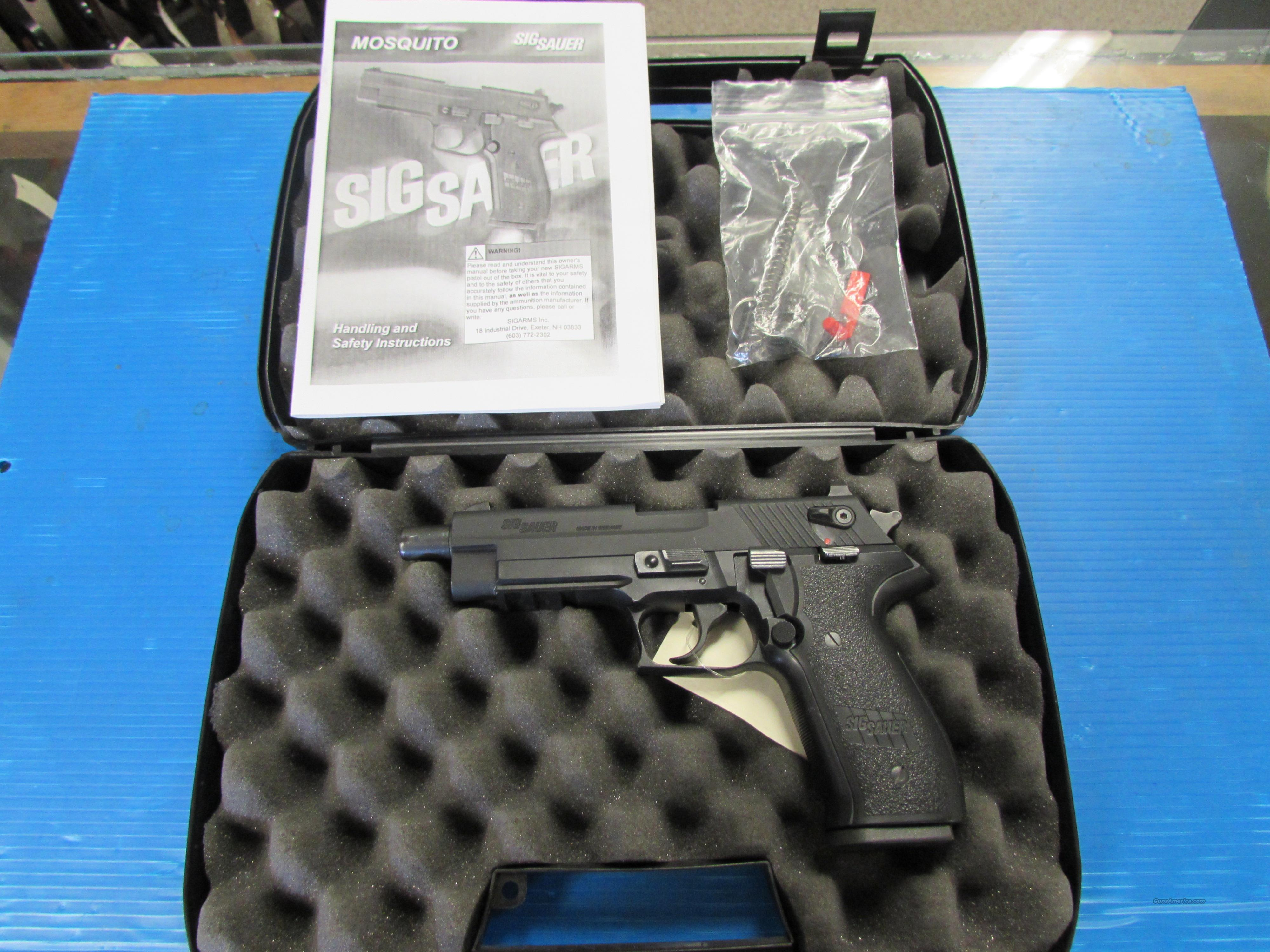 SIG SAUER MOSQUITO 22LR BBB-17-13  Guns > Pistols > Sig - Sauer/Sigarms Pistols > Mosquito