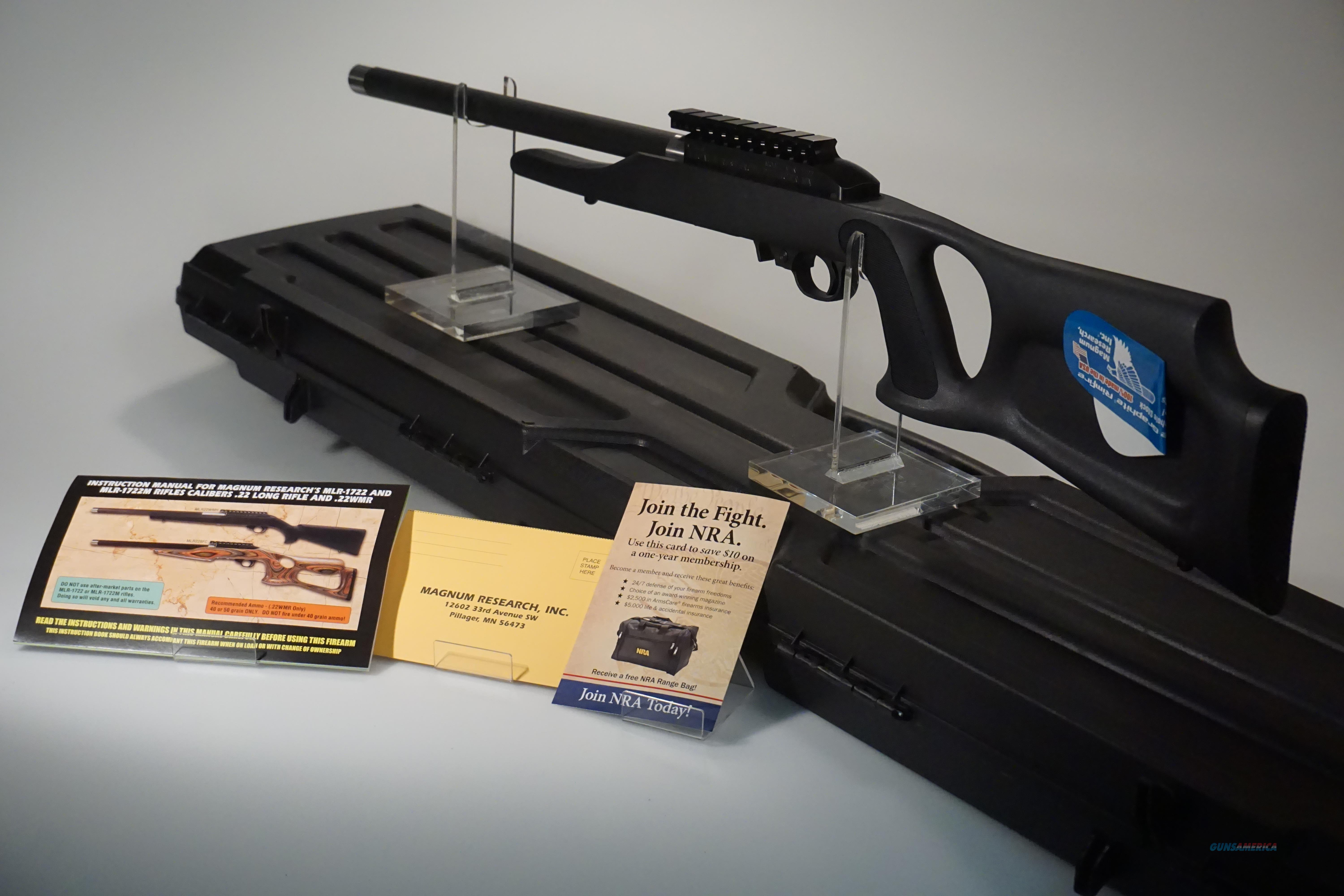 Magnum Research MLR 1722 .22LR BNIB  Guns > Rifles > MN Misc Rifles