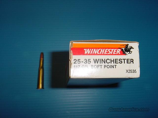 WINCHESTER 25-35  Non-Guns > Ammunition