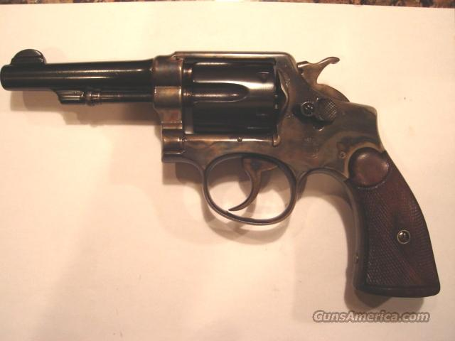 Smith & Wesson 1905 4th model case hardened  Guns > Pistols > Smith & Wesson Revolvers > Pre-1945