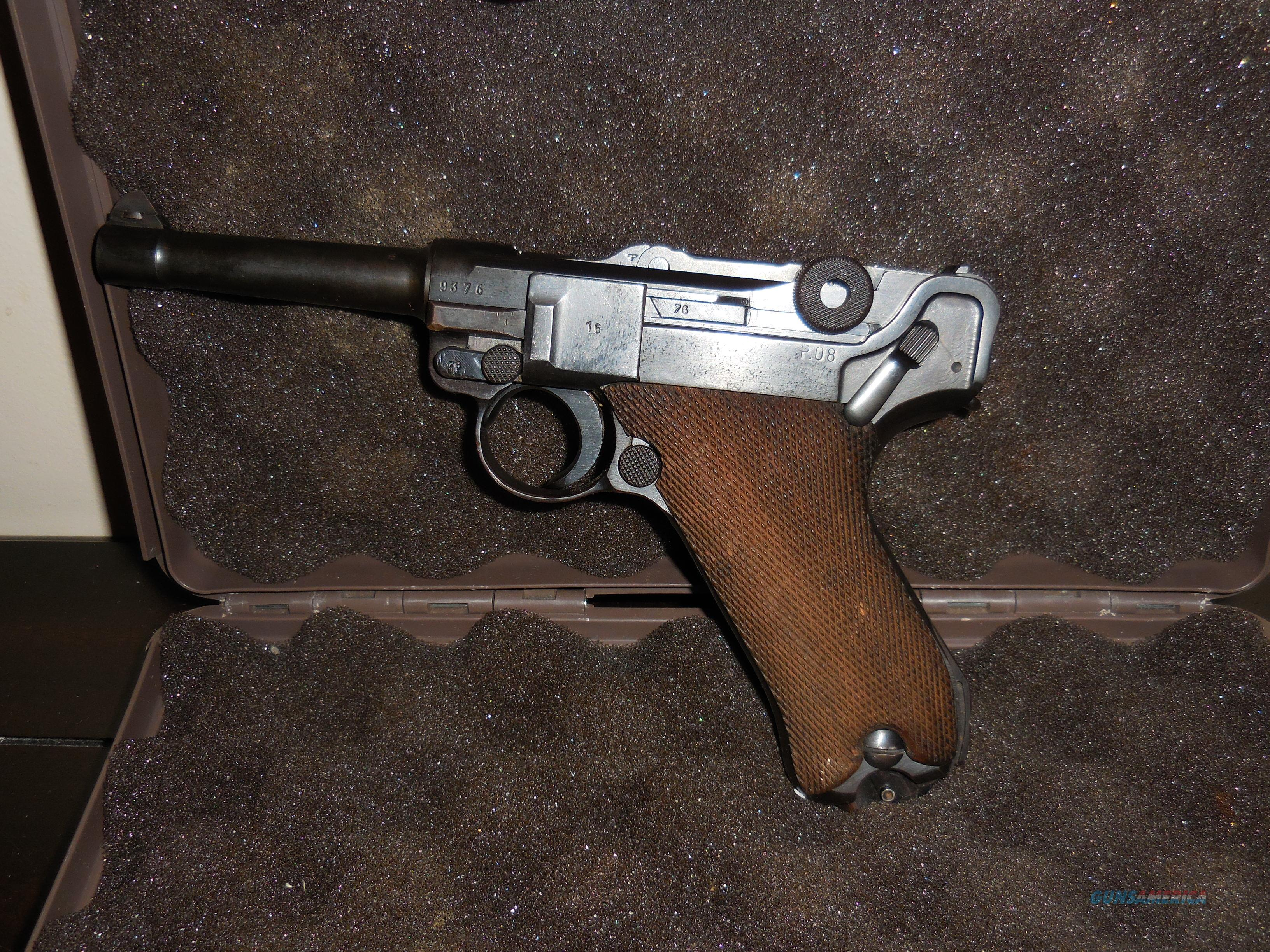 WWII Luger by BYF Mauser 9mm  Guns > Pistols > Luger Pistols
