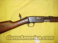 REMINGTON MODEL 12 .22 W/LYMAN PEEP SIGHT   Guns > Rifles > Remington Rifles - Modern > Non-Model 700