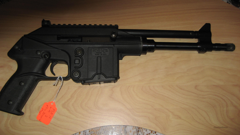 PLR-16 PISTOL  Guns > Pistols > Kel-Tec Pistols > .223 Type