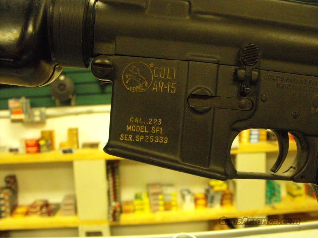 SP1  Guns > Rifles > AR-15 Rifles - Small Manufacturers > Complete Rifle