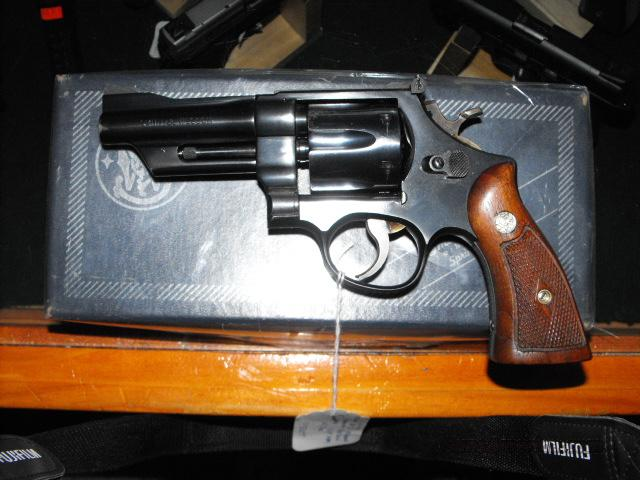 S&W model 28 Highway Patrolman  Guns > Pistols > Smith & Wesson Revolvers > Full Frame Revolver
