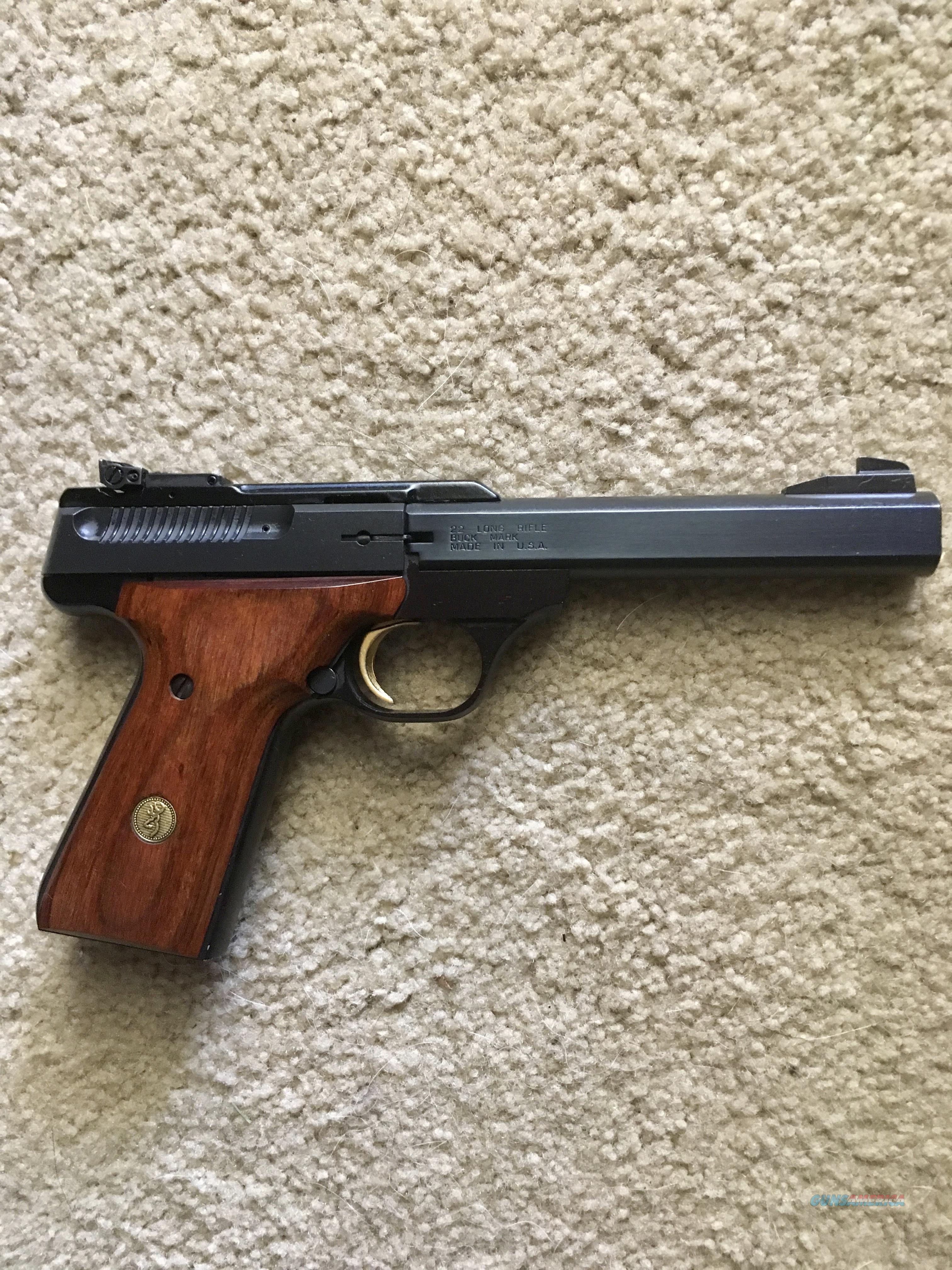 Browning Buck Mark .22 LR  Guns > Pistols > Browning Pistols > Buckmark
