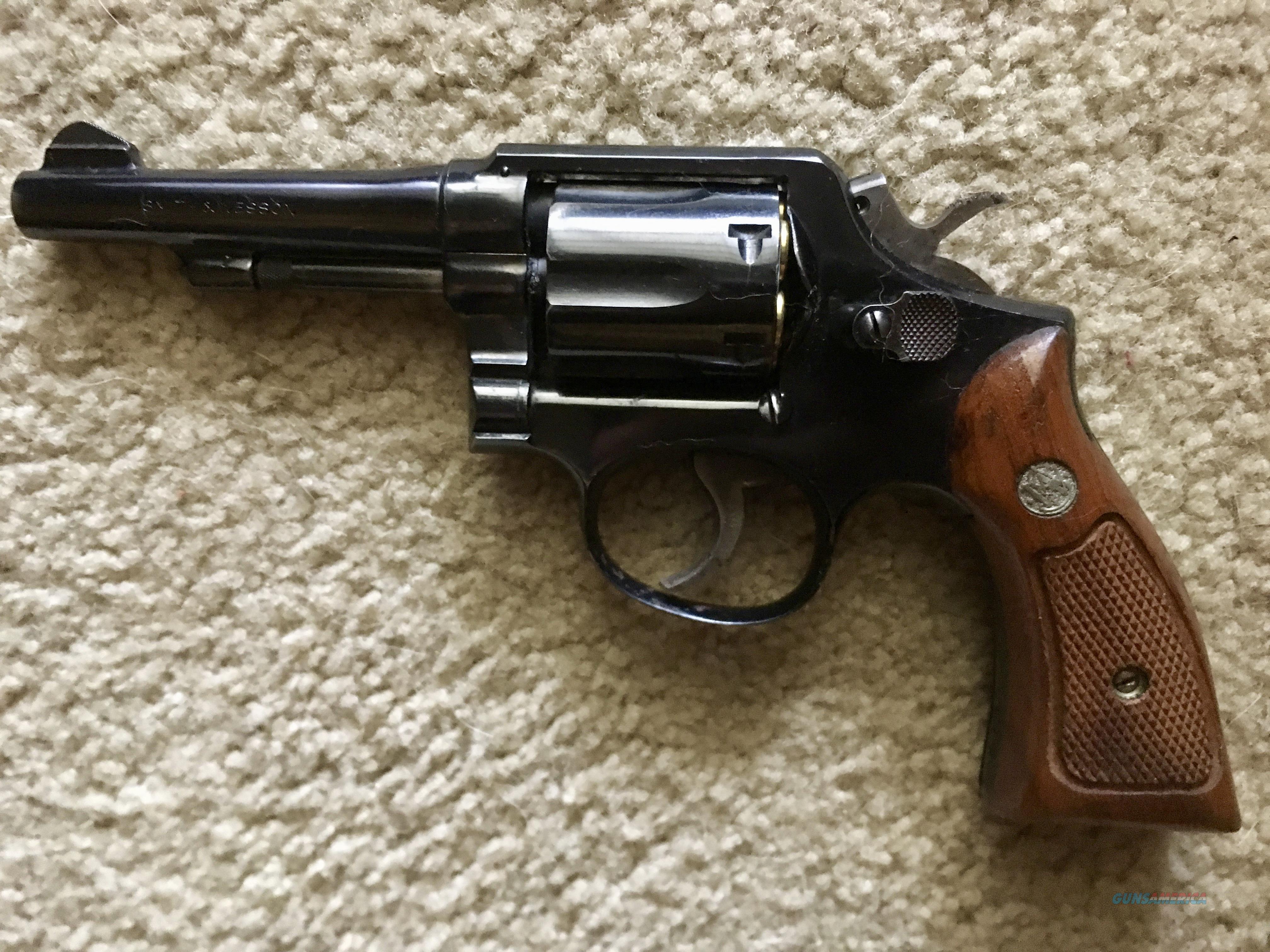 "Smith & Wesson .38 spl 4"" bbl  Guns > Pistols > Smith & Wesson Revolvers > Model 10"