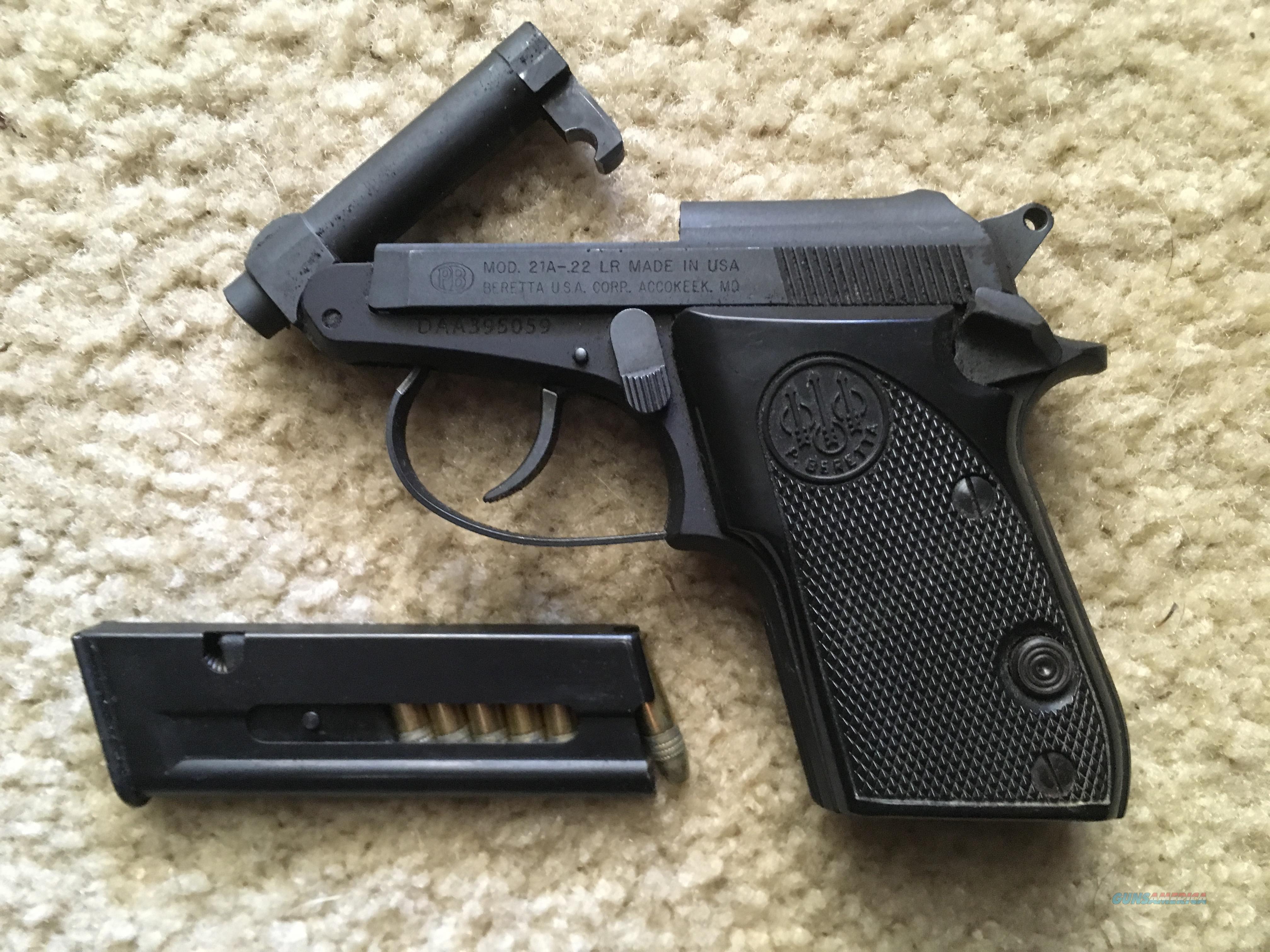 Beretta Bobcat Mod 21A -  LR  Guns > Pistols > Smith & Wesson Pistols - Autos > .22 Autos