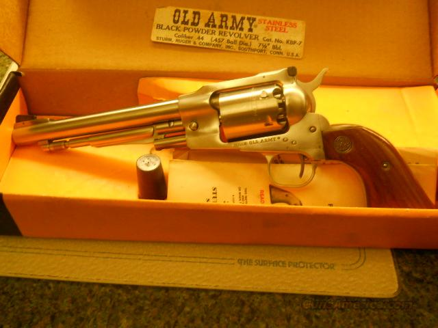 Ruger Old Army  Non-Guns > Black Powder Muzzleloading