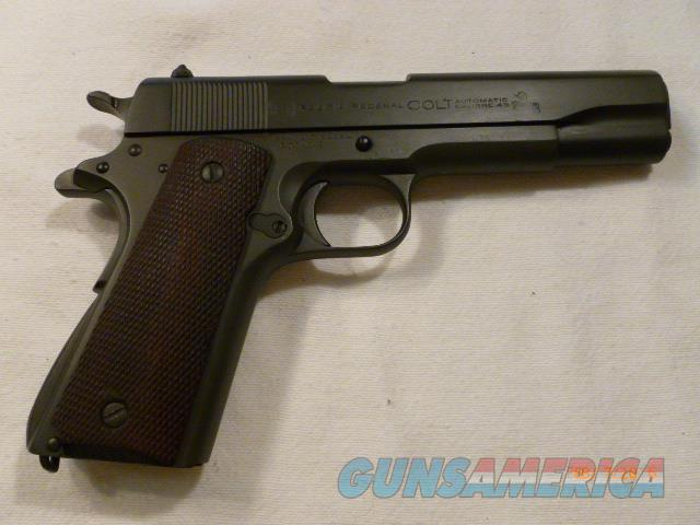 Colt 1911 Pre War Commerical Variation  Guns > Pistols > Colt Automatic Pistols (1911 & Var)