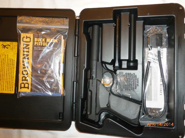 Browning Buck Mark Camper UFX Pro Target .22  Guns > Pistols > Browning Pistols > Buckmark