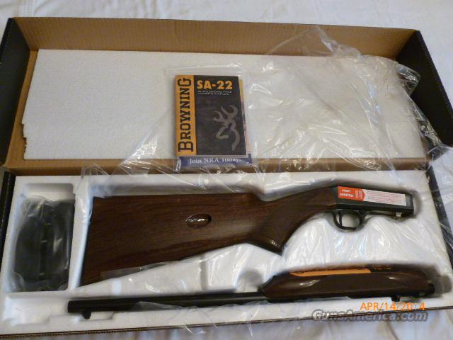 Browning .22 Auto TD  Guns > Rifles > Browning Rifles > Semi Auto > Hunting
