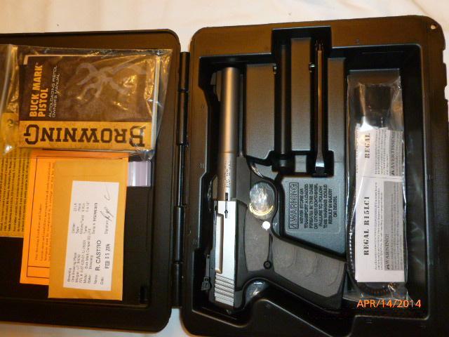 Browning Buck Mark Camper UFX PT .22  LR  Guns > Pistols > Browning Pistols > Buckmark