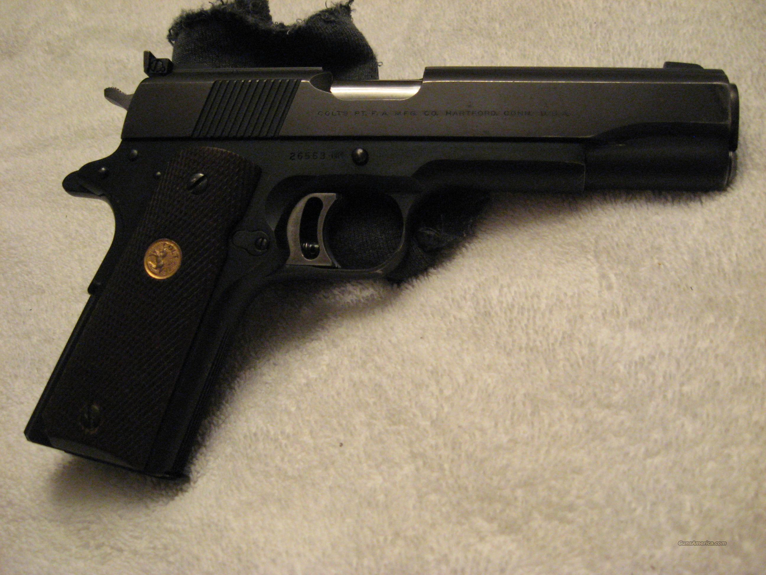 Colt National Match  Guns > Pistols > Colt Automatic Pistols (1911 & Var)