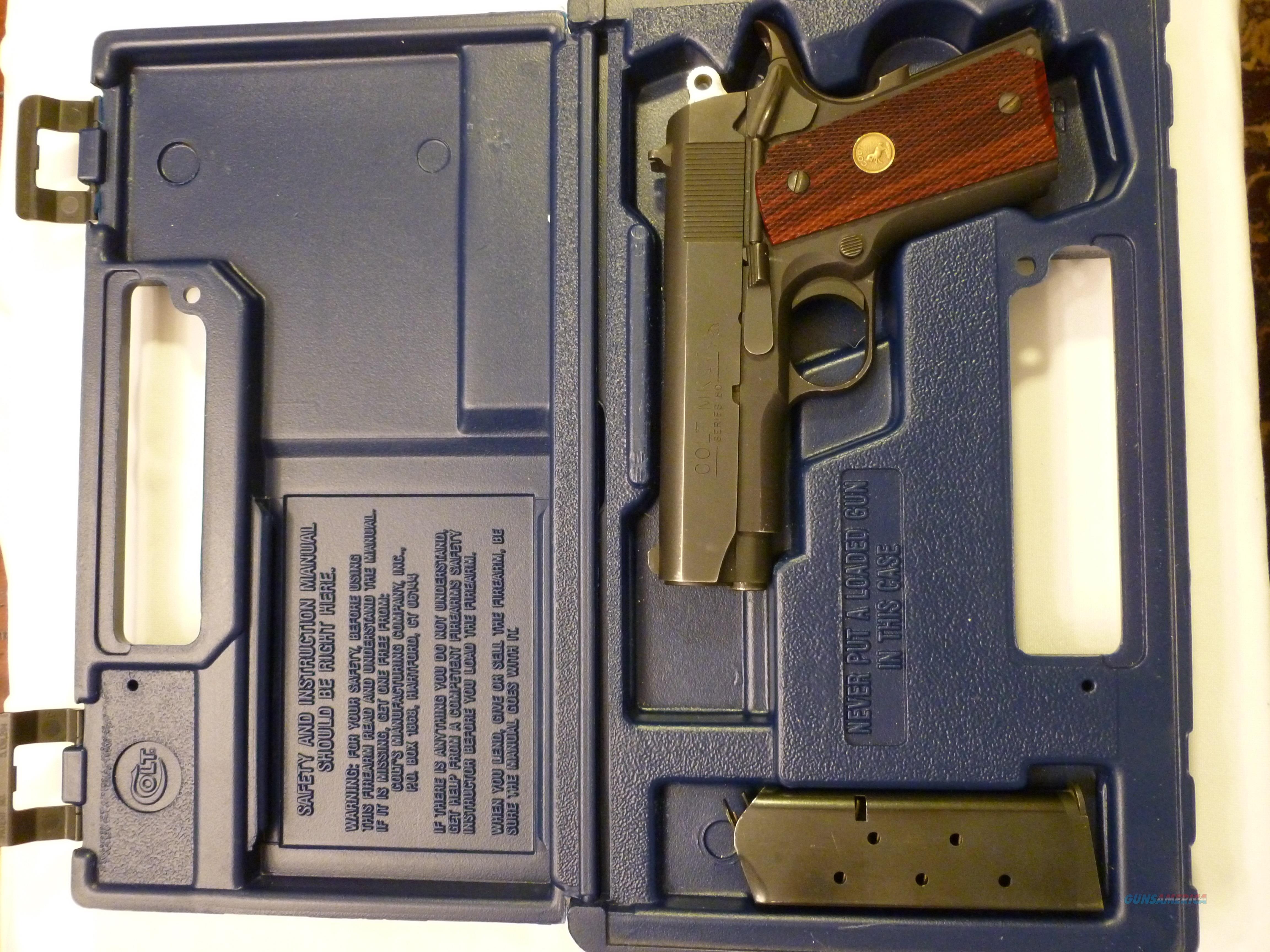 Colt Officers ACP  Guns > Pistols > Colt Automatic Pistols (1911 & Var)