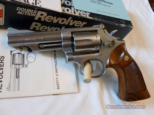 S&W Mod 66 Combat Magnum  Guns > Pistols > Smith & Wesson Revolvers > Full Frame Revolver