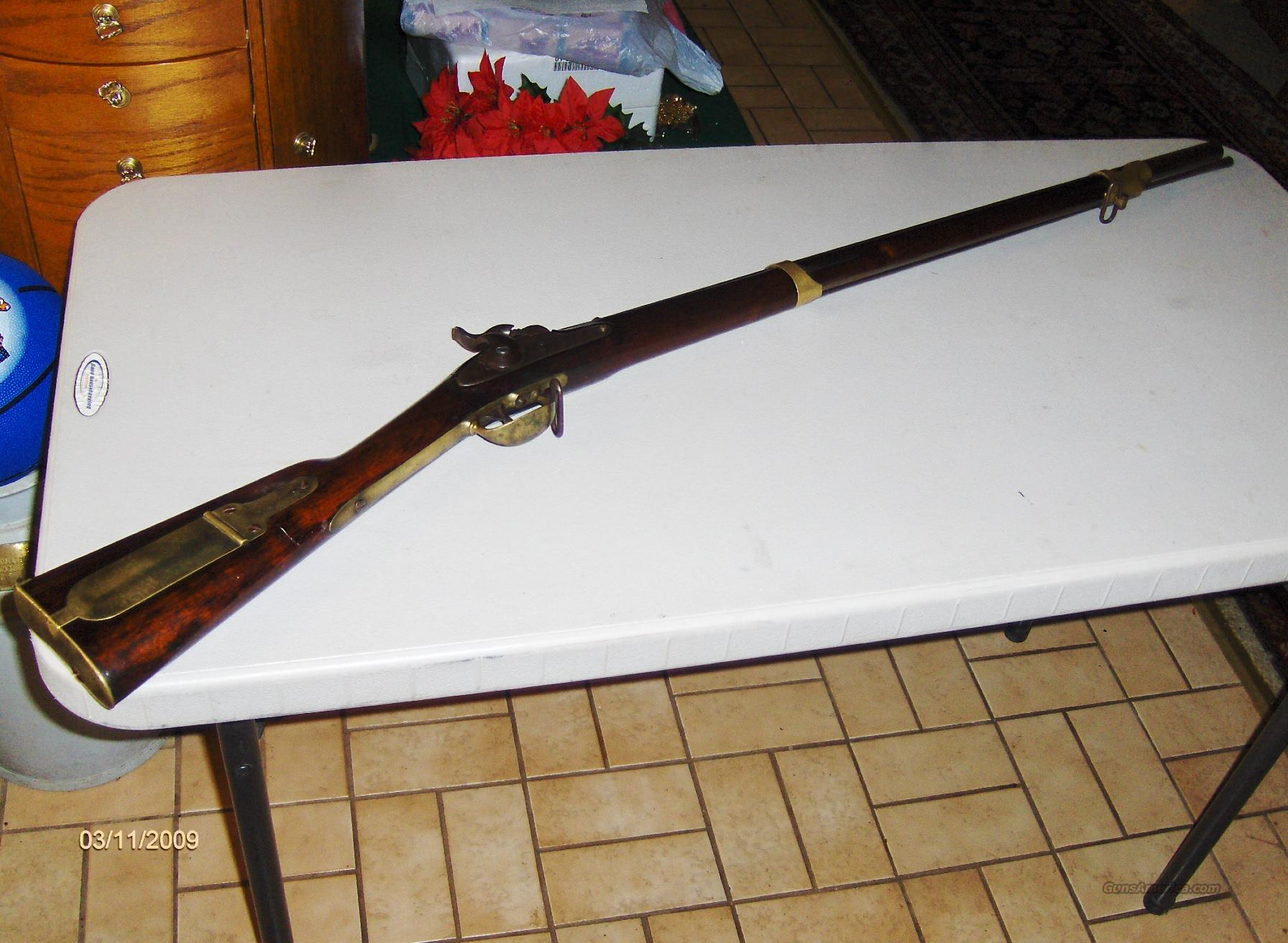 Smooth Bore Muskets Civil War Wm