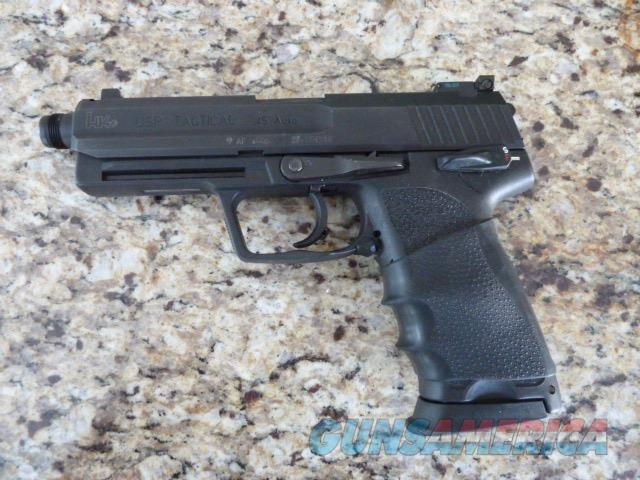 H & K USP Tactical Lightly Used   Guns > Pistols > Heckler & Koch Pistols > Polymer Frame