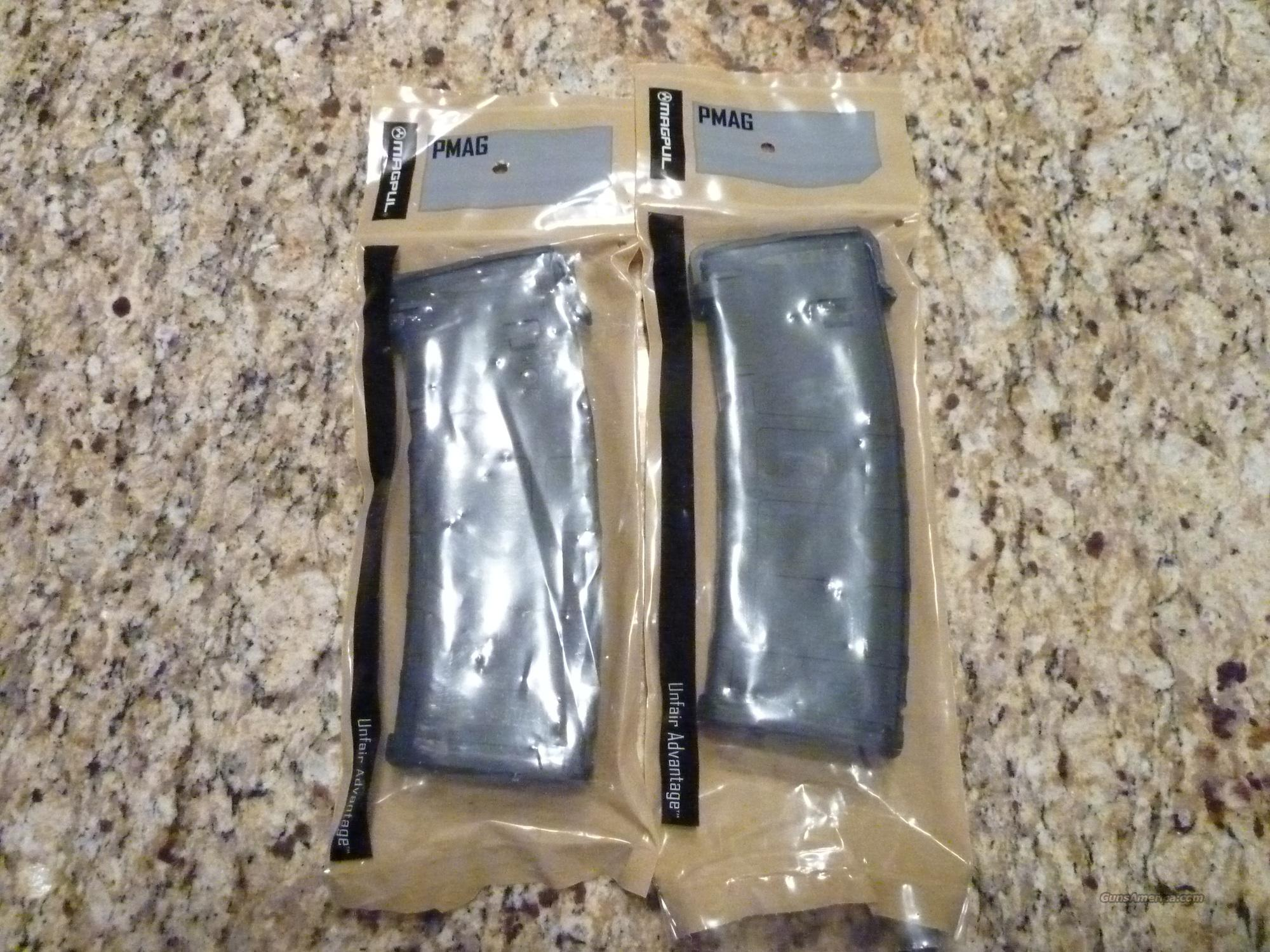2 (Two) NIP BLACK MAGPUL PMAG 30 round mag  Non-Guns > Magazines & Clips > Rifle Magazines > AR-15 Type