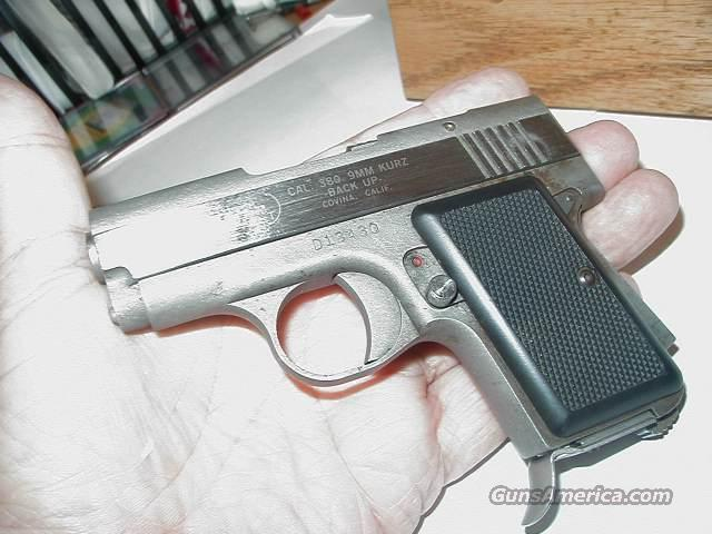 AMT 380 9MM KURZ STAINLESS STEEL  Guns > Pistols > AMT Pistols > Other